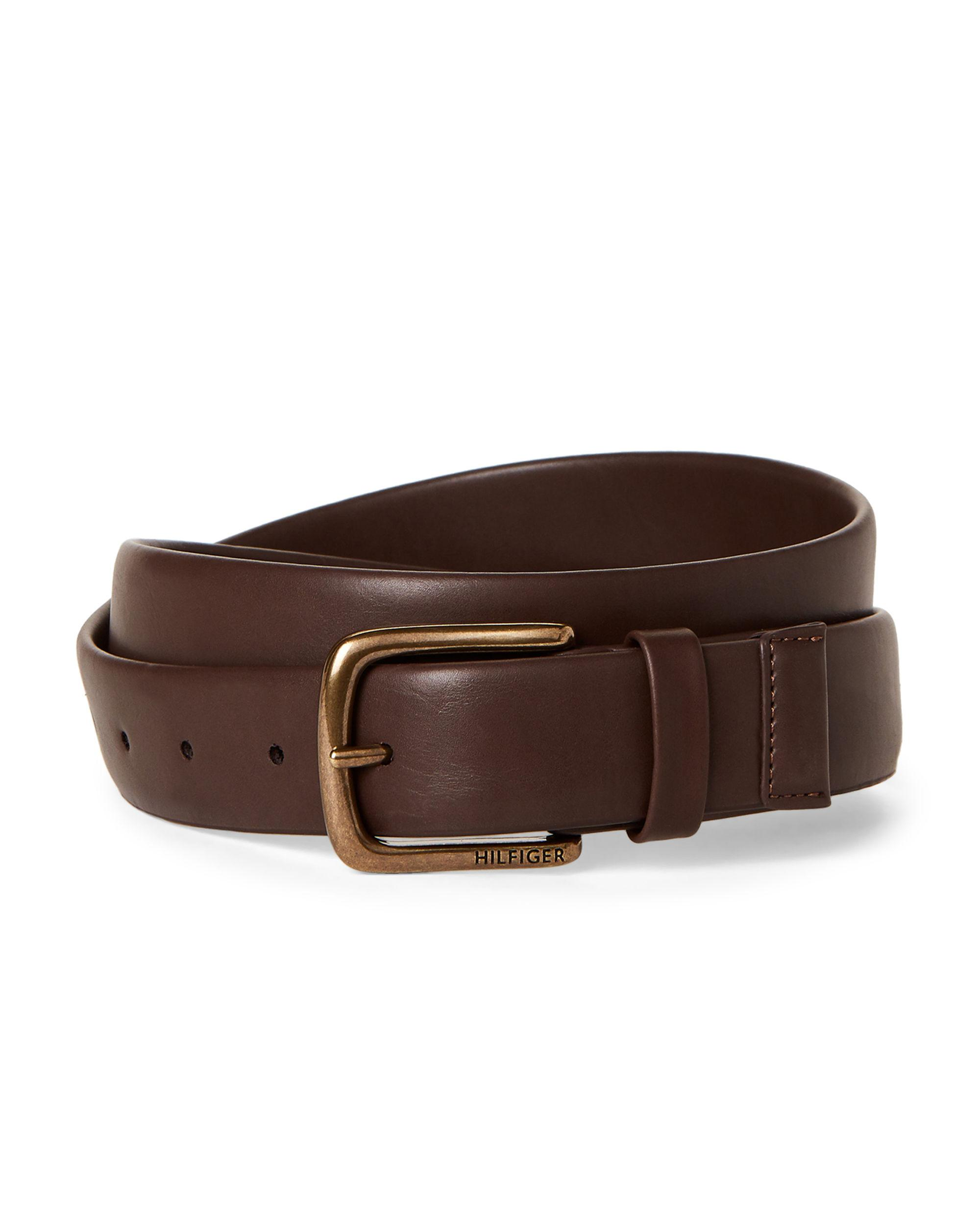 Robert Graham Men Belt Sz 36 Homer Reversible Belt Brown Black Faux Leather $78