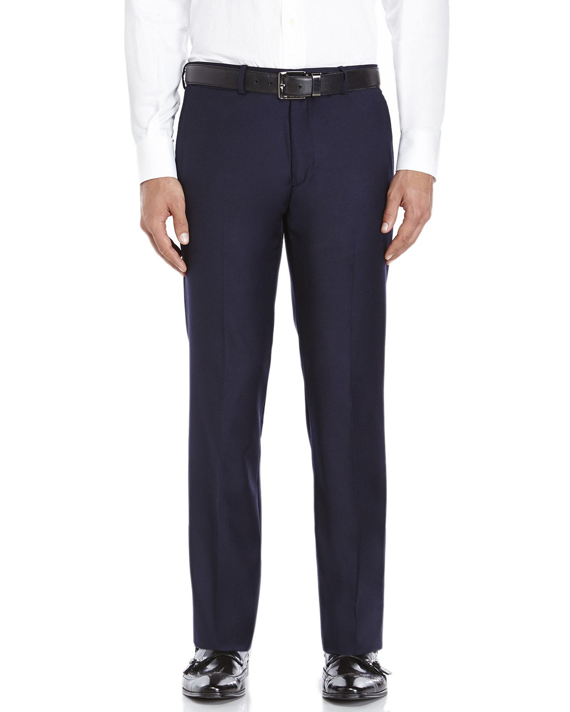566d721ce0 Lyst - Theory Navy Slim Fit Wool Suit Pants in Blue for Men