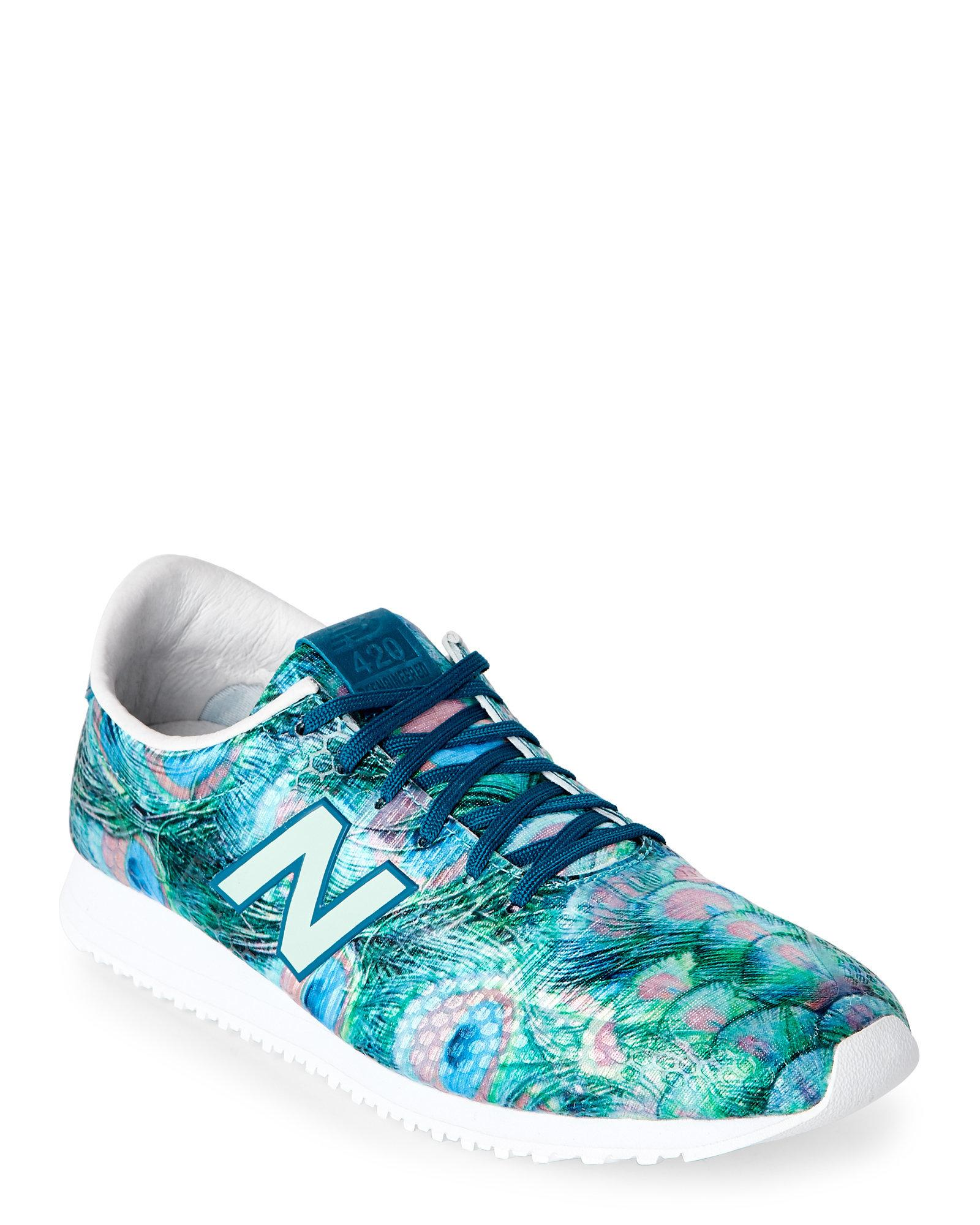 new balance 420 peacock green