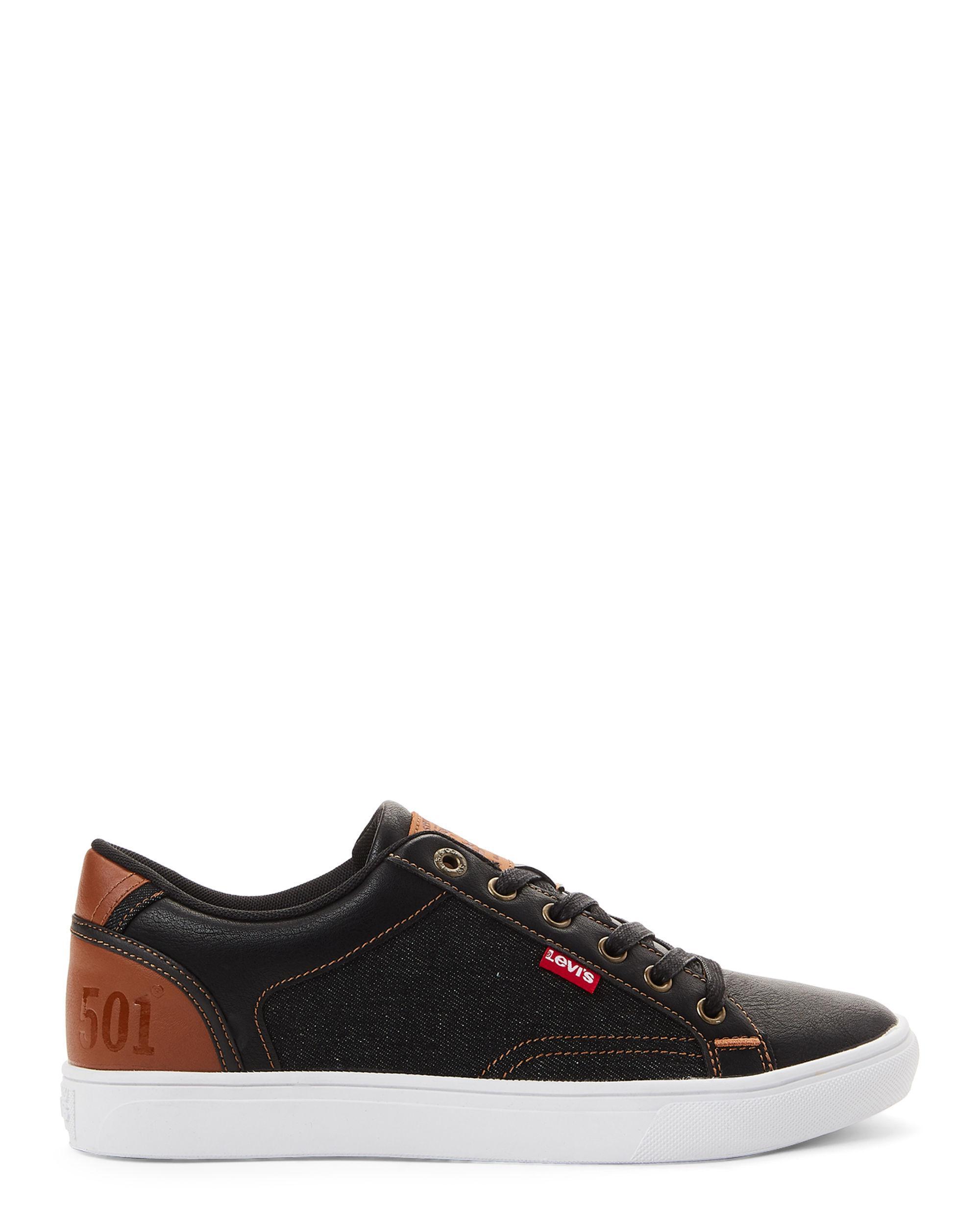 Tan Jeffrey 501 Low-top Sneakers