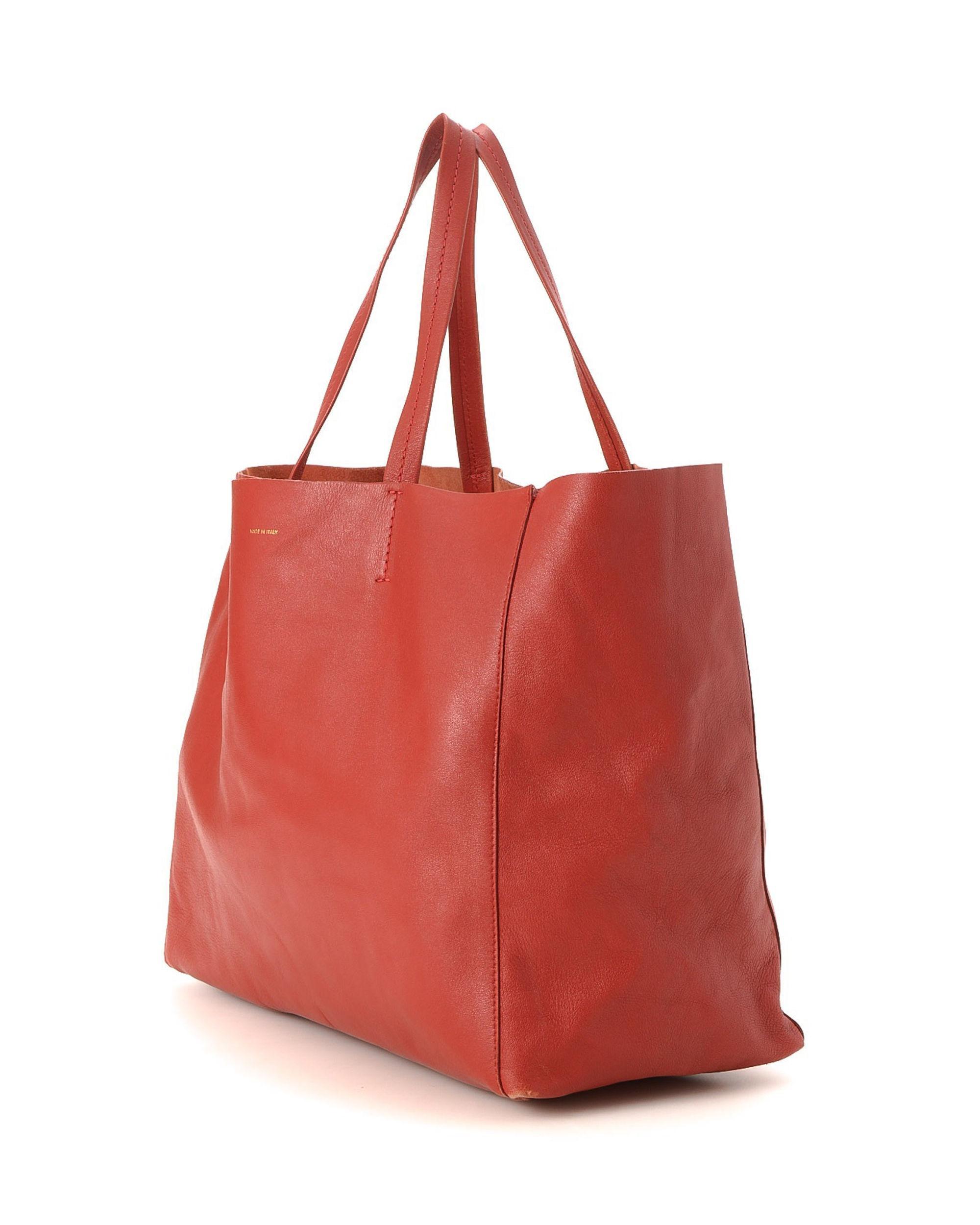 fd324c815a6c1 Lyst - Céline Cabas Horizontal Tote Bag - Vintage in Red