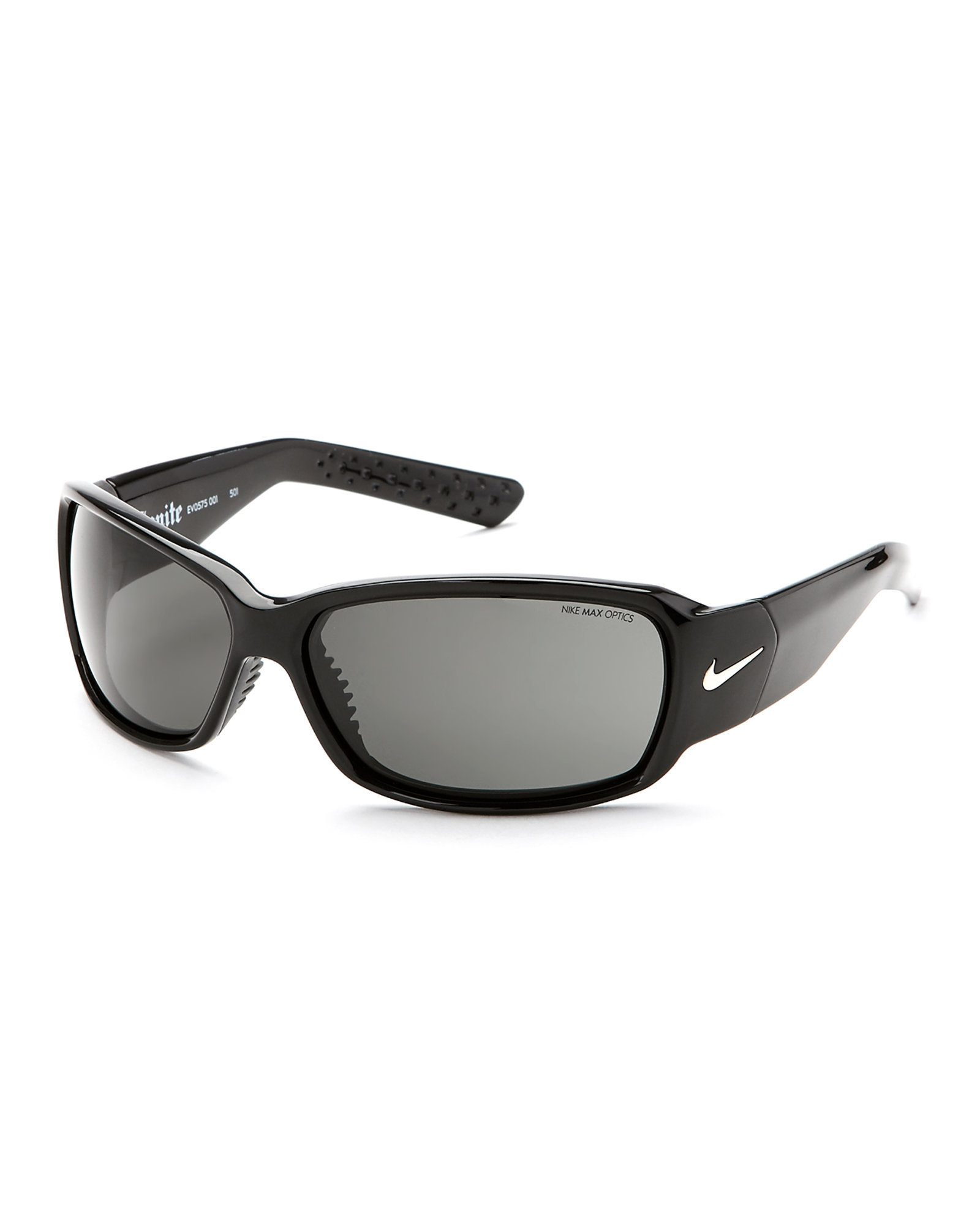 Nike Ignite Sunglasses  nike black ignite rectangular wrap sunglasses in black for men lyst