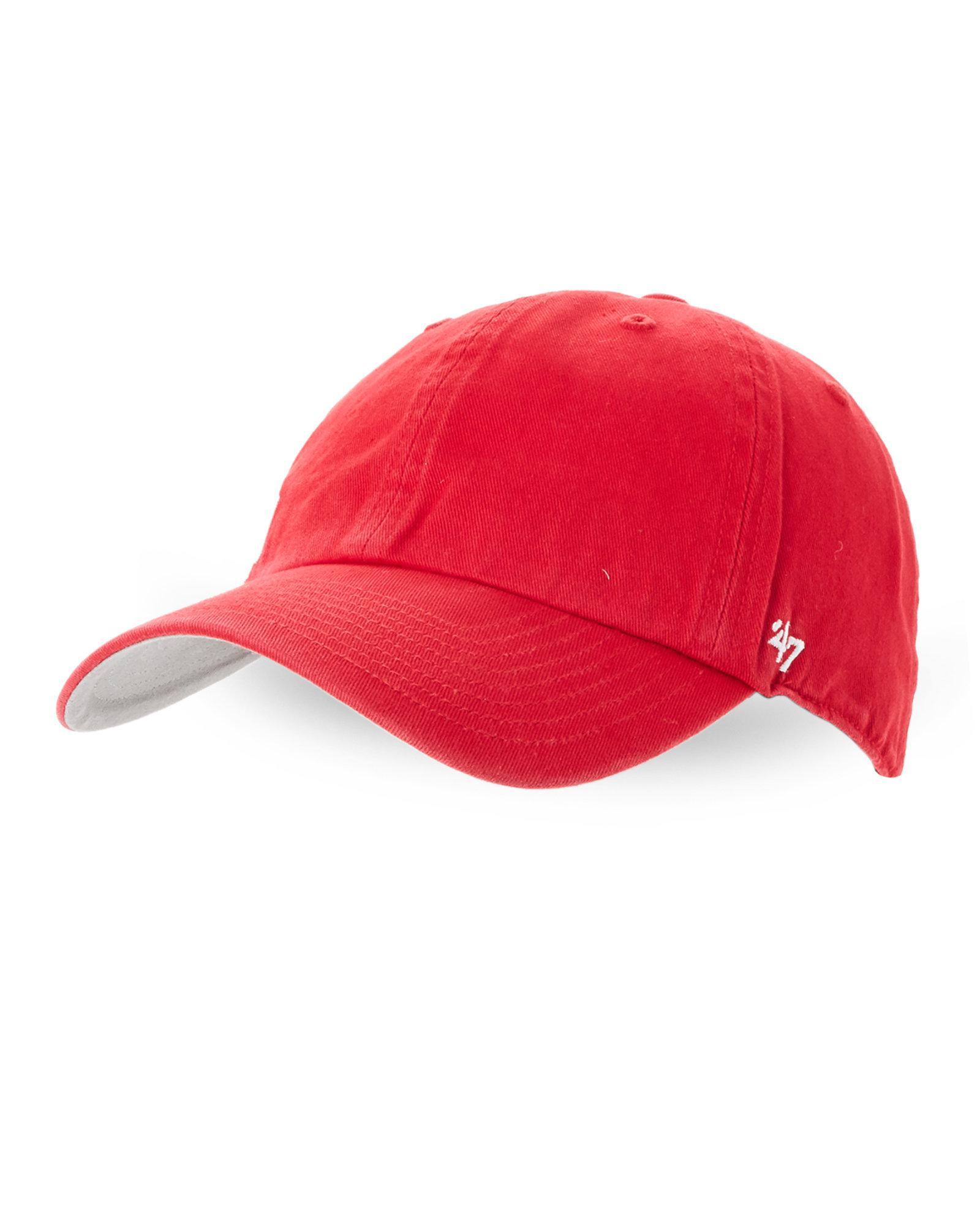 the latest 50f85 6789b ... store lyst 47 brand suspense clean up new york yankees cap in red for  men 12a16