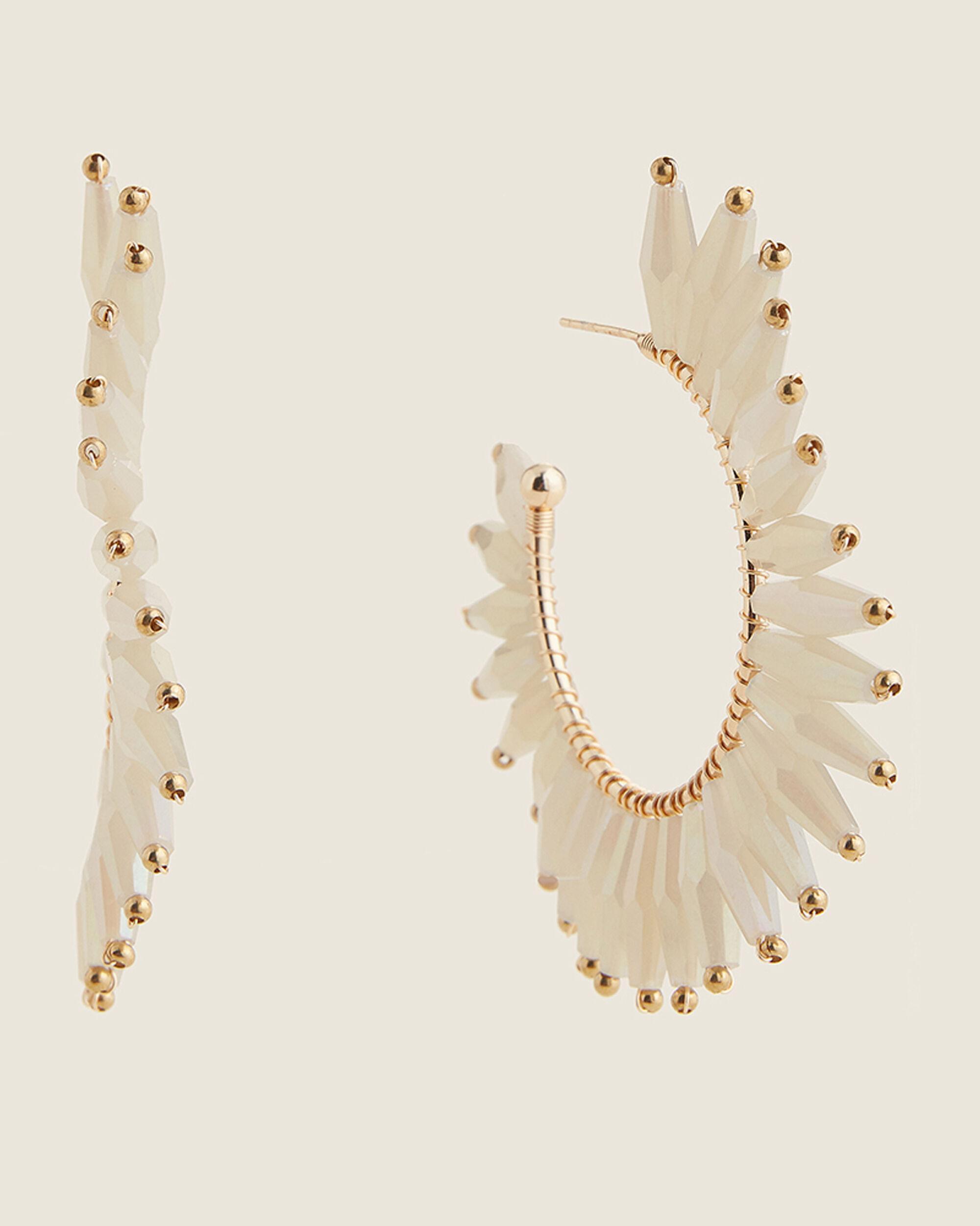 NEW Snakeskin print gold beige brown disks hoop dangle drop stud earrings