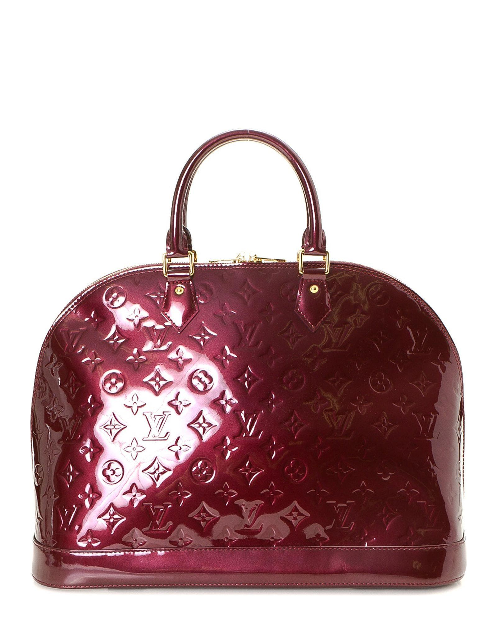 78049ebd0359 Lyst - Louis Vuitton Handbag - Vintage in Red