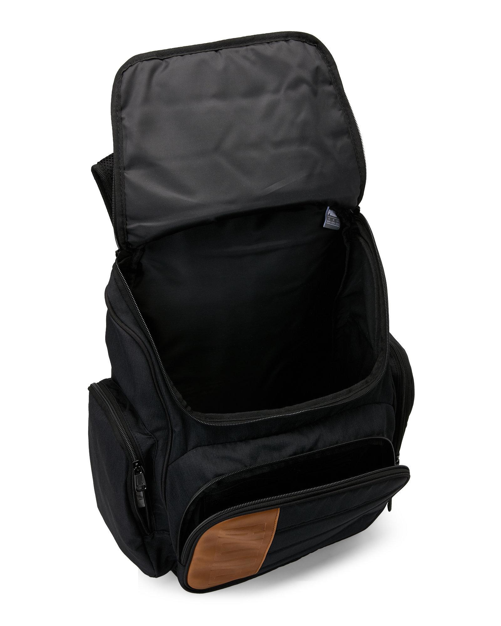 puma equation backpack in black for men lyst