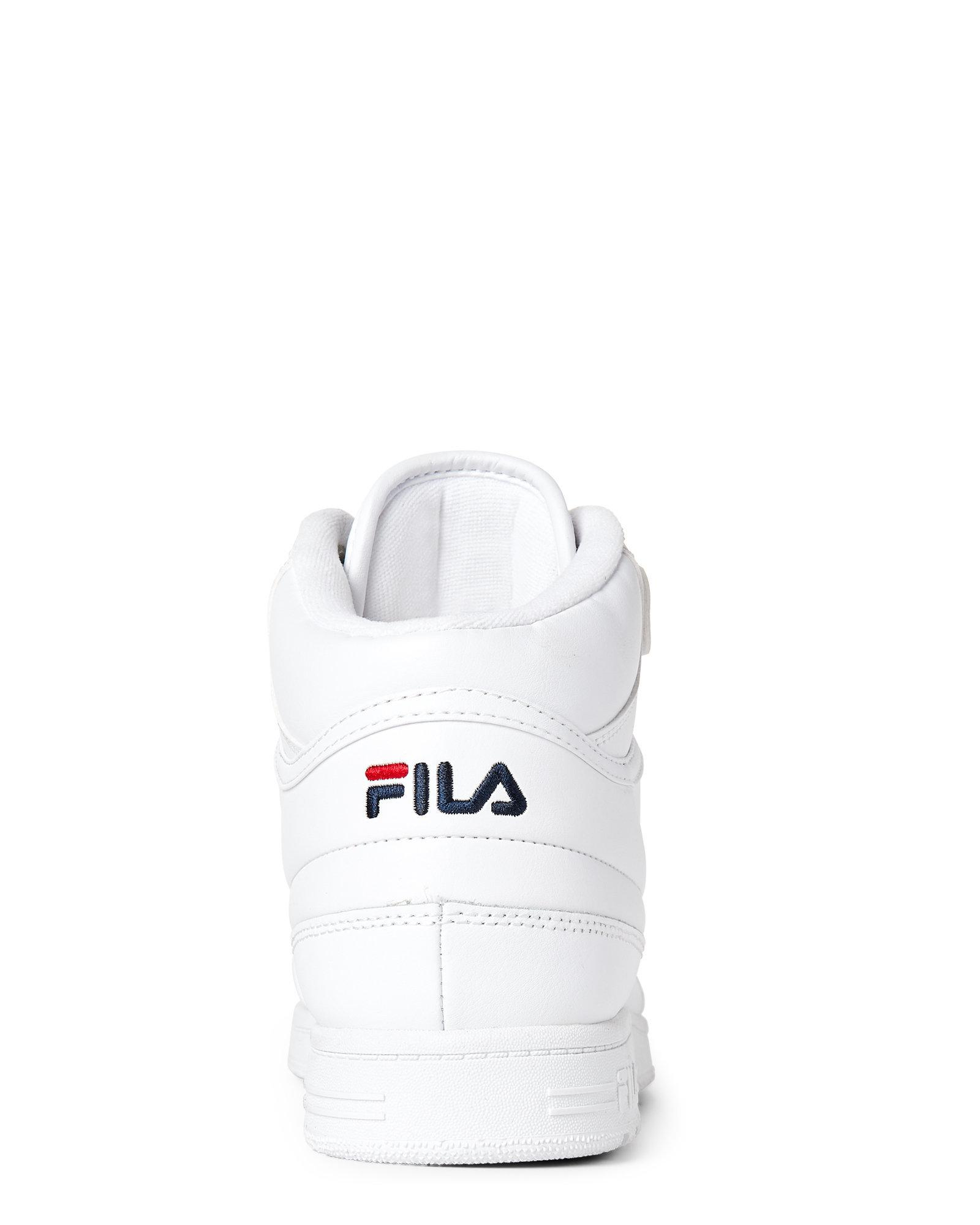 Fila White Bbn 86 High Top Sneakers for men