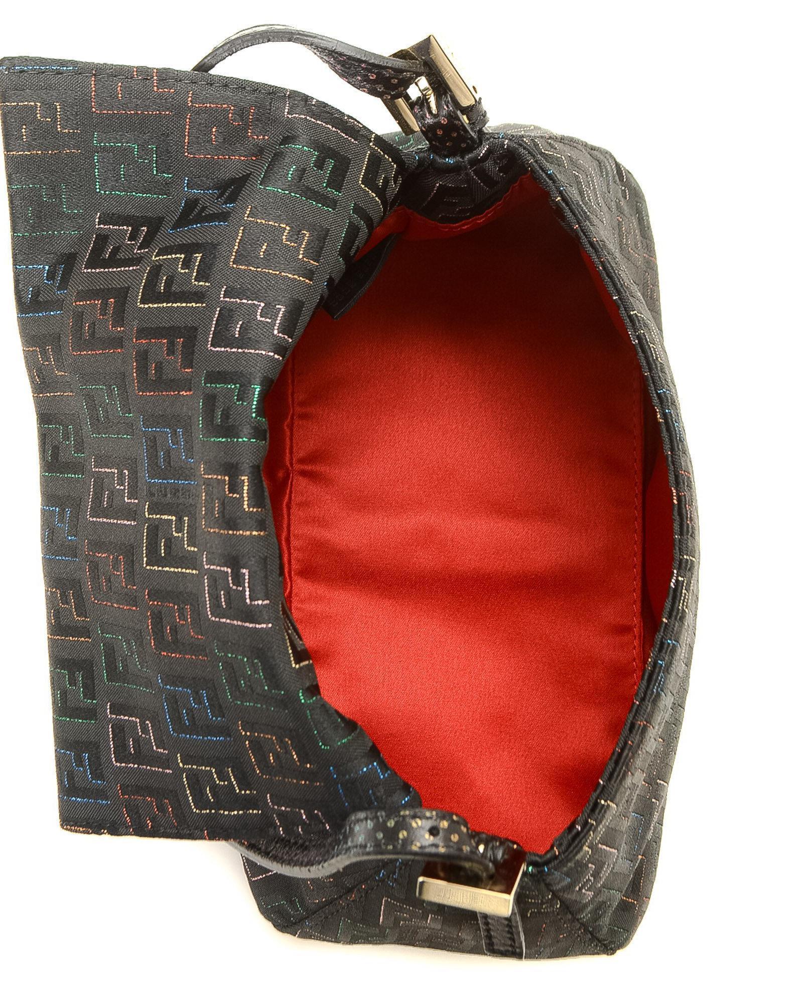 Lyst - Fendi Zucca Handbag - Vintage in Black a6df008c2d31a