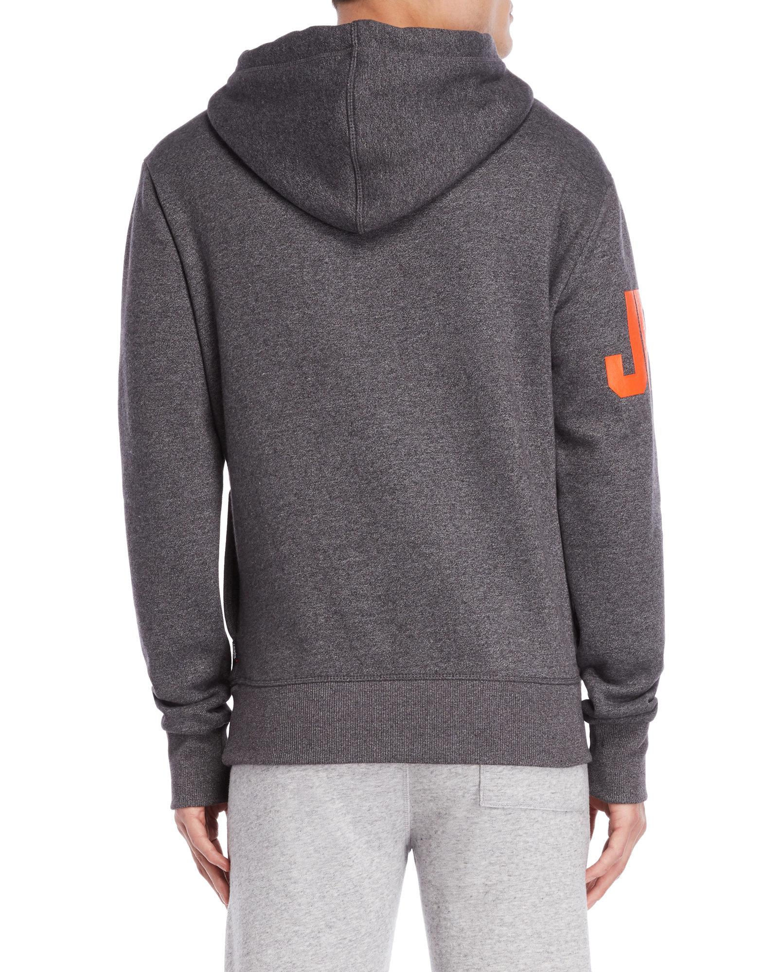 Superdry - Gray Vintage Logo Pullover Hoodie - Lyst. View fullscreen 10a3b4d0f1