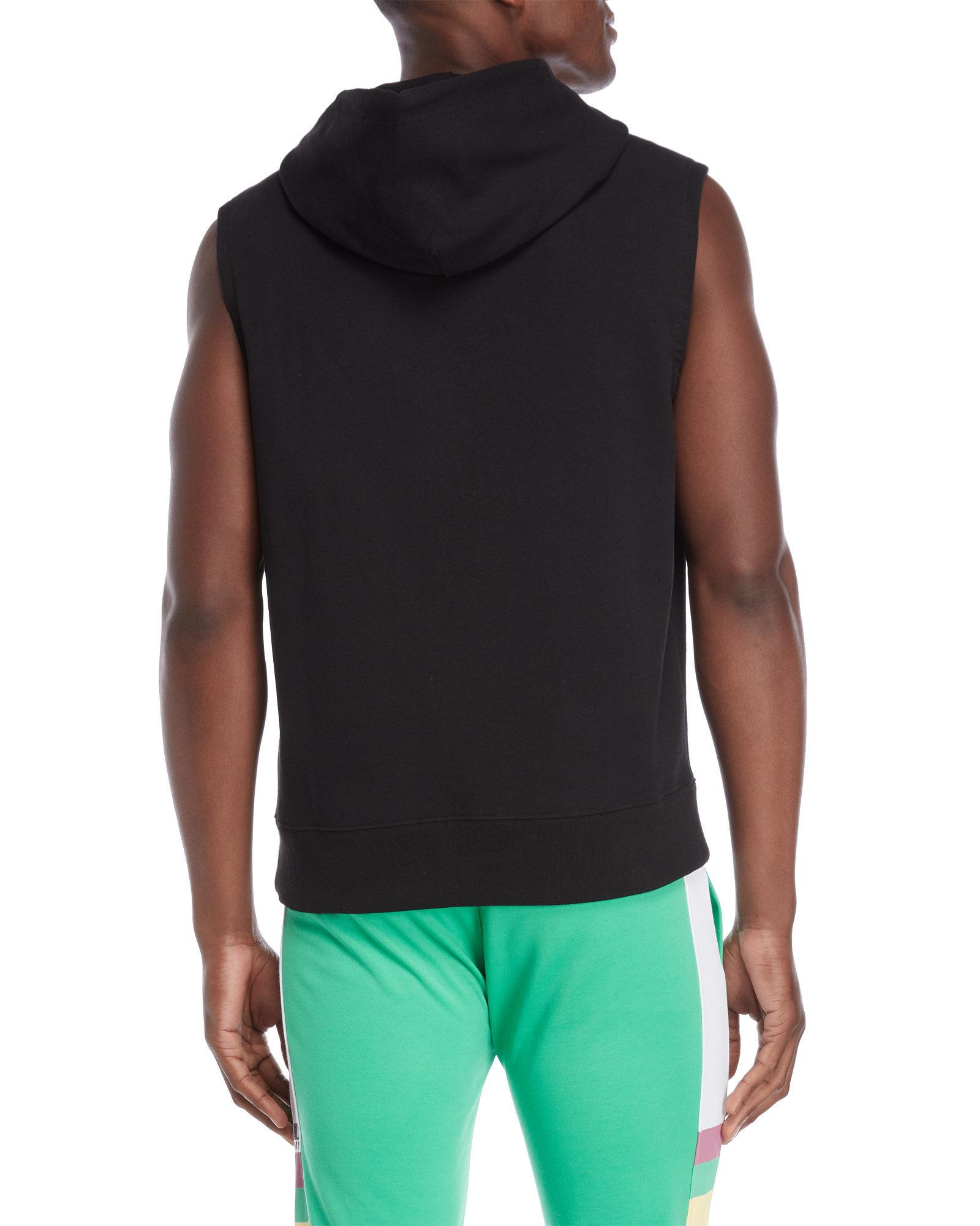 36f1b8fc6b308a Lyst - BBCICECREAM Arch Logo Sleeveless Hoodie in Black for Men