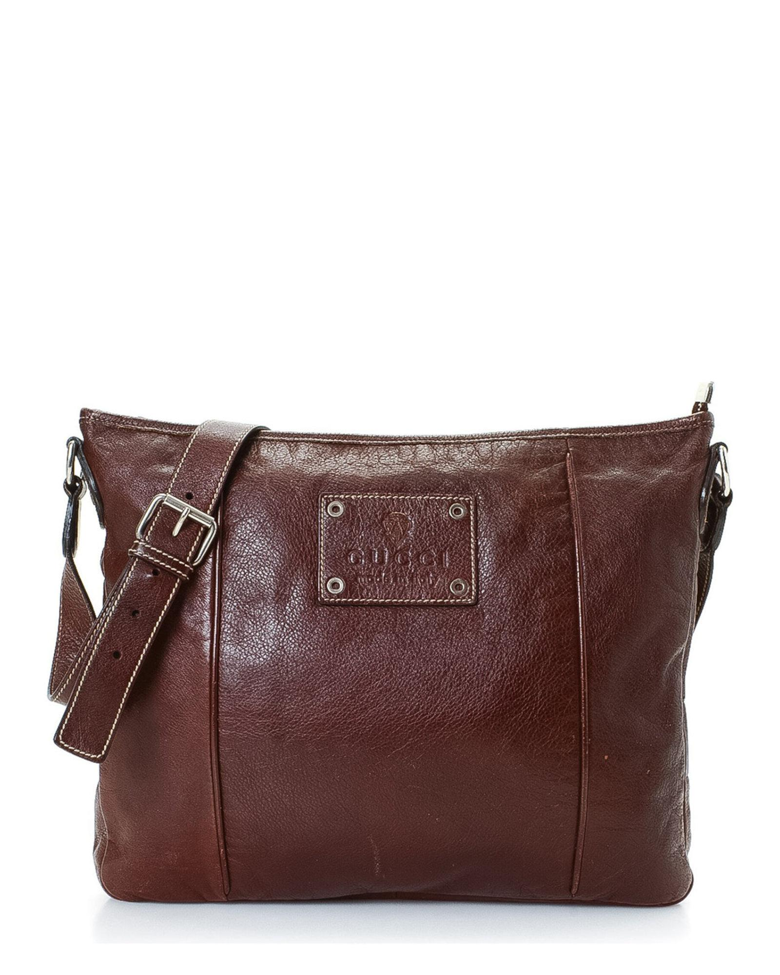 109487132d7 Lyst - Gucci Shoulder Bag - Vintage in Brown