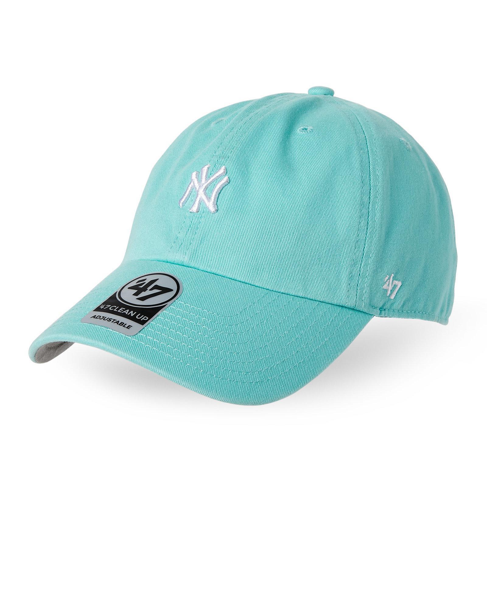Lyst - 47 Brand New York Yankees Mini Logo Baseball Cap in Blue for Men 02ea47ec200