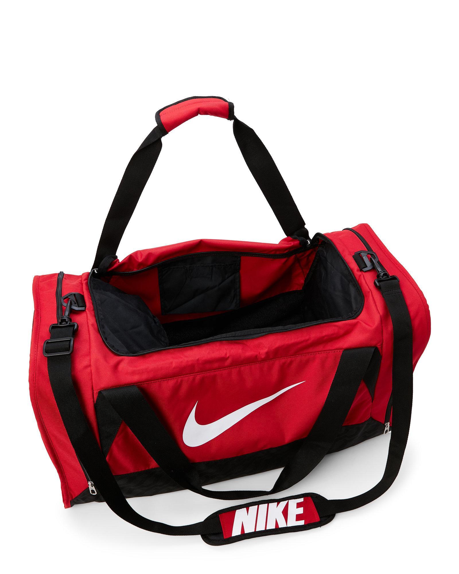 3bb5585ab02b Lyst - Nike Gym Red Brasilia Medium Duffel Bag in Red for Men
