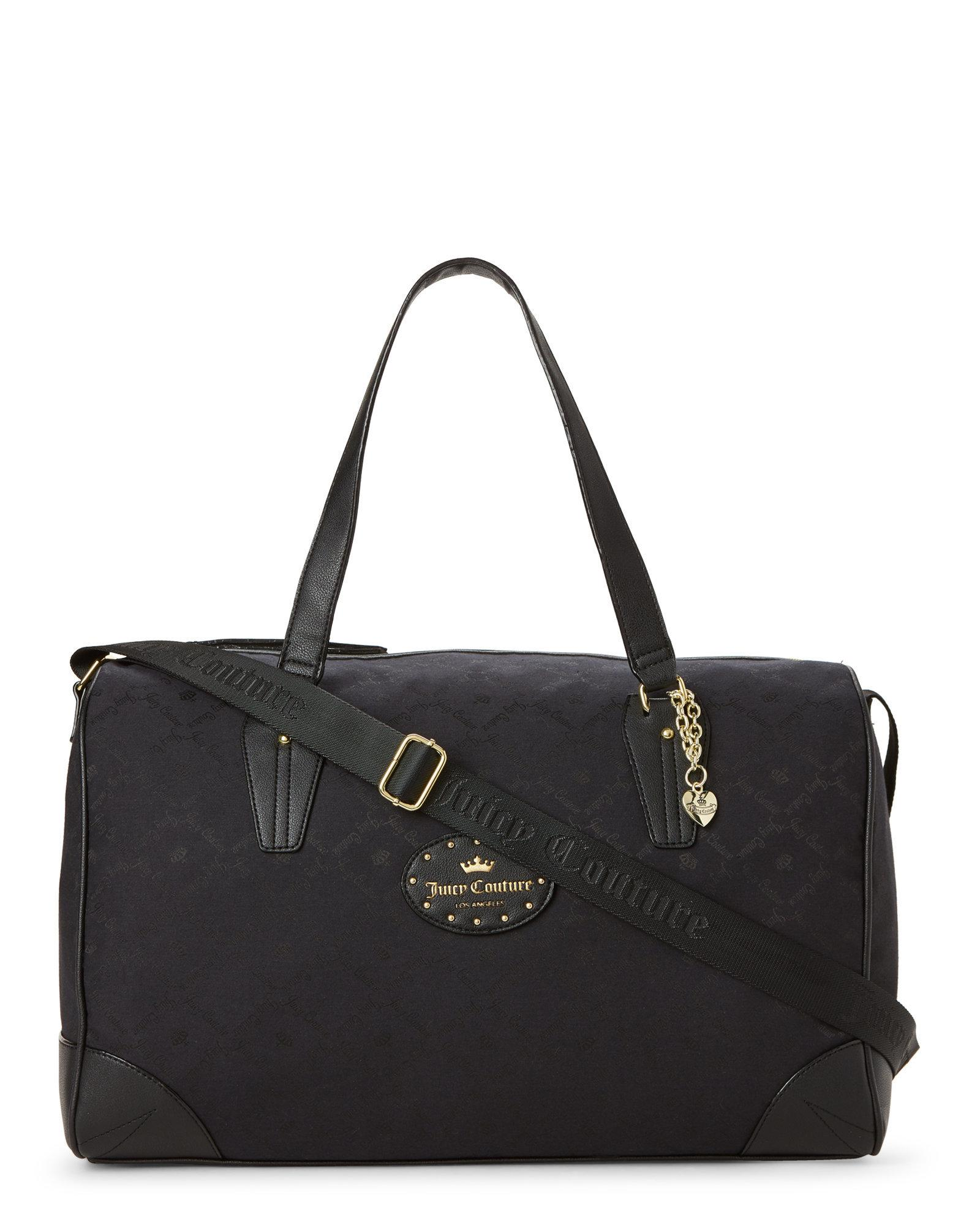 Lyst - Juicy Couture Black Yours Truly Weekender in Black cd79ff89d154
