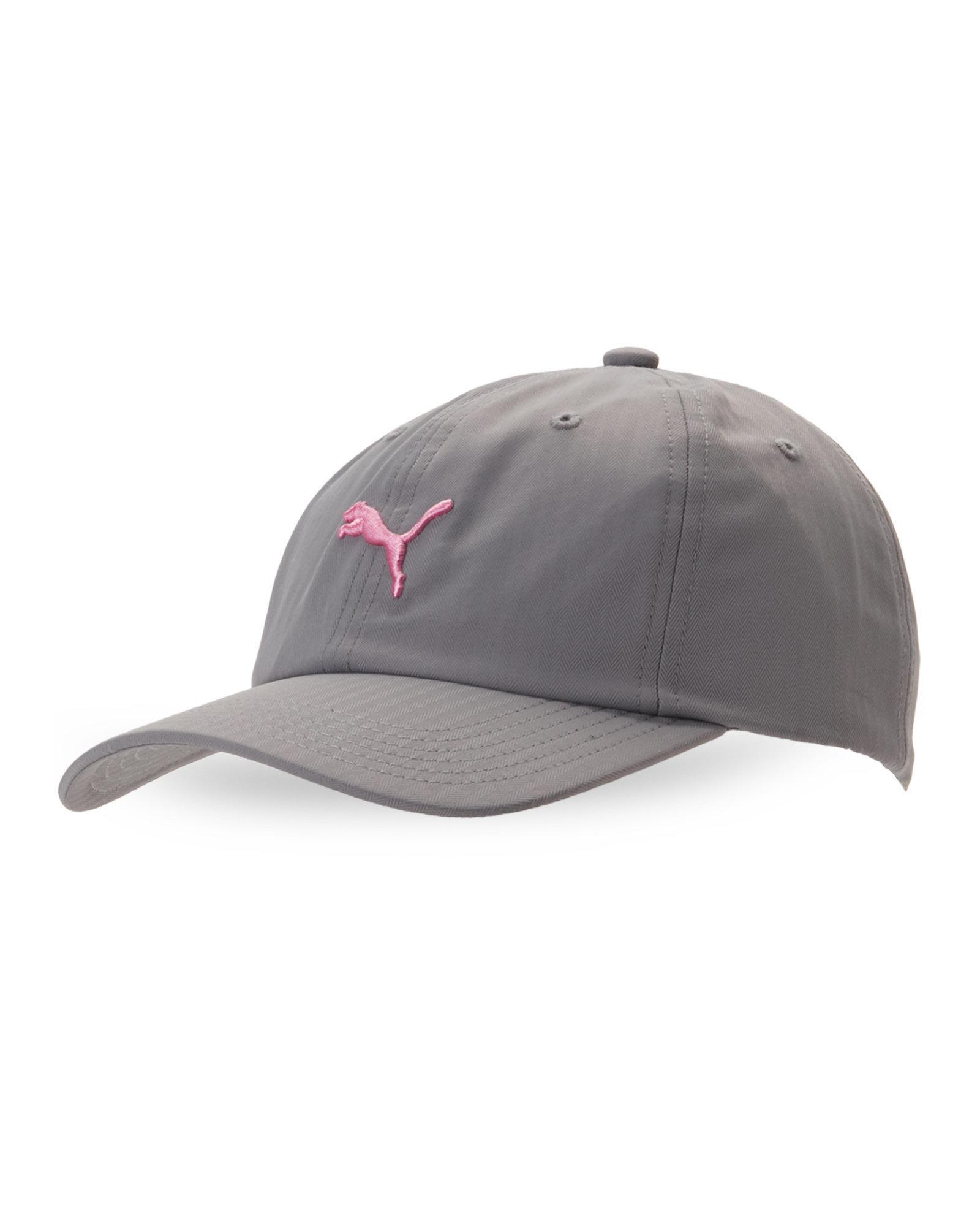 c59dbdbc69f Lyst - PUMA Grey   Pink Evercat Yates Baseball Cap in Gray for Men