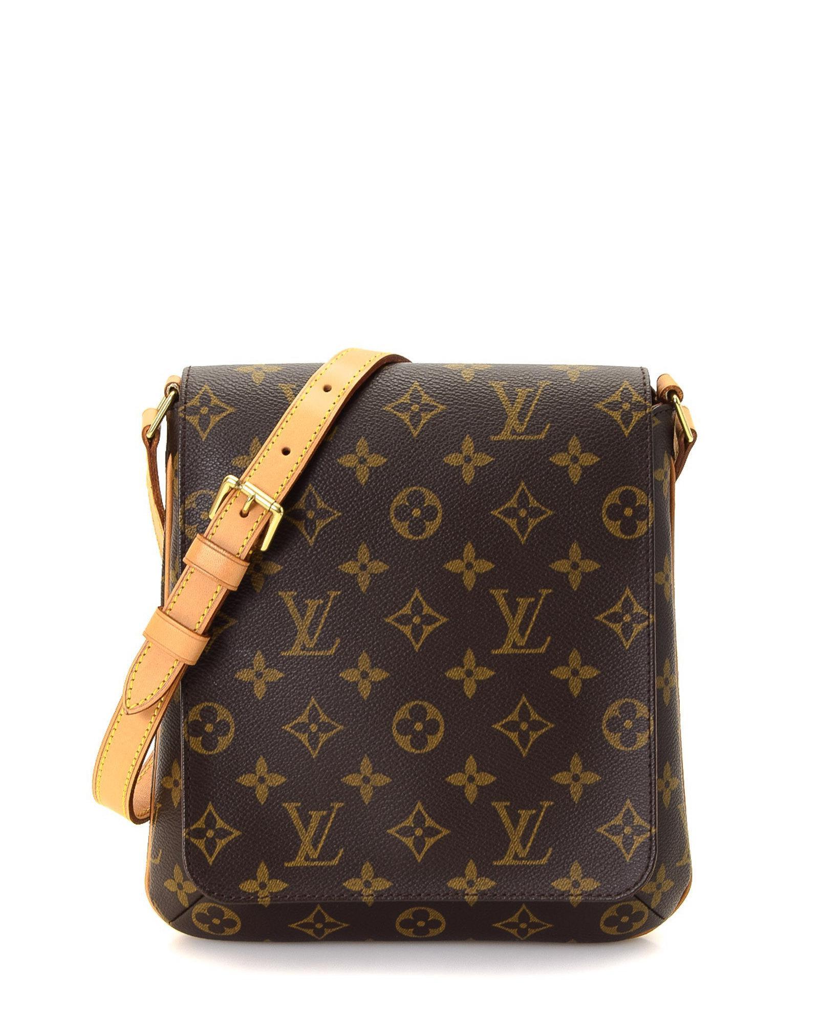 2390f51ebac8 Lyst - Louis Vuitton Crossbody Bag - Vintage in Brown
