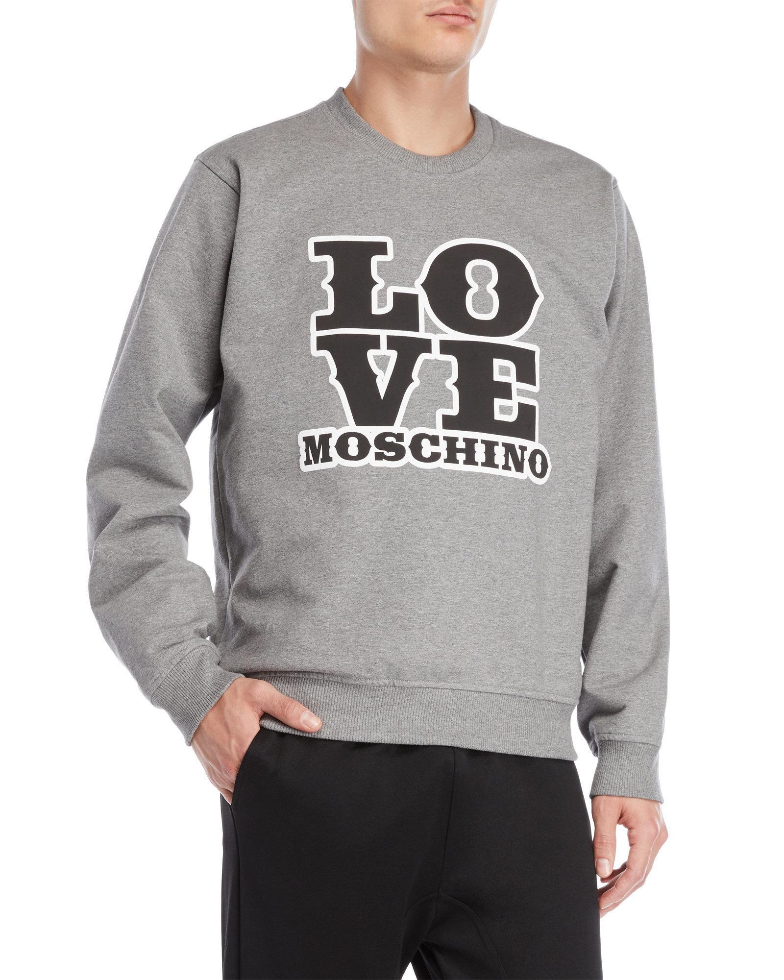Moschino Graphic logo sweatshirt pZh60l