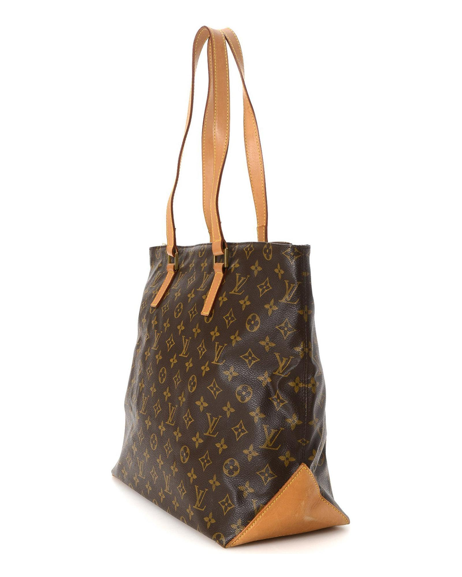 8a260cde1899 Lyst - Louis Vuitton Tote Bag - Vintage in Brown