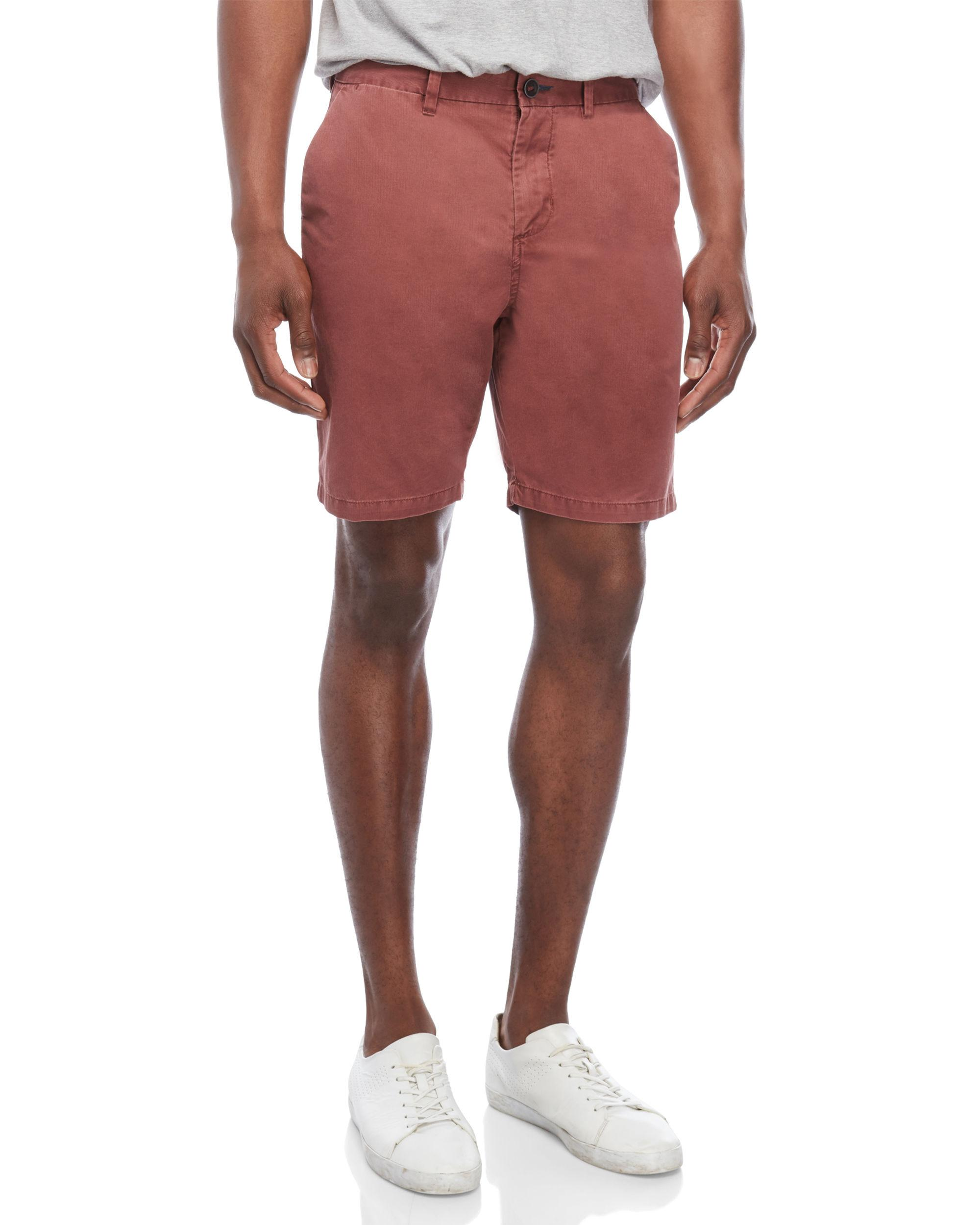 6cfc234b Lyst - Billabong Brick Flat Front Shorts in Red for Men