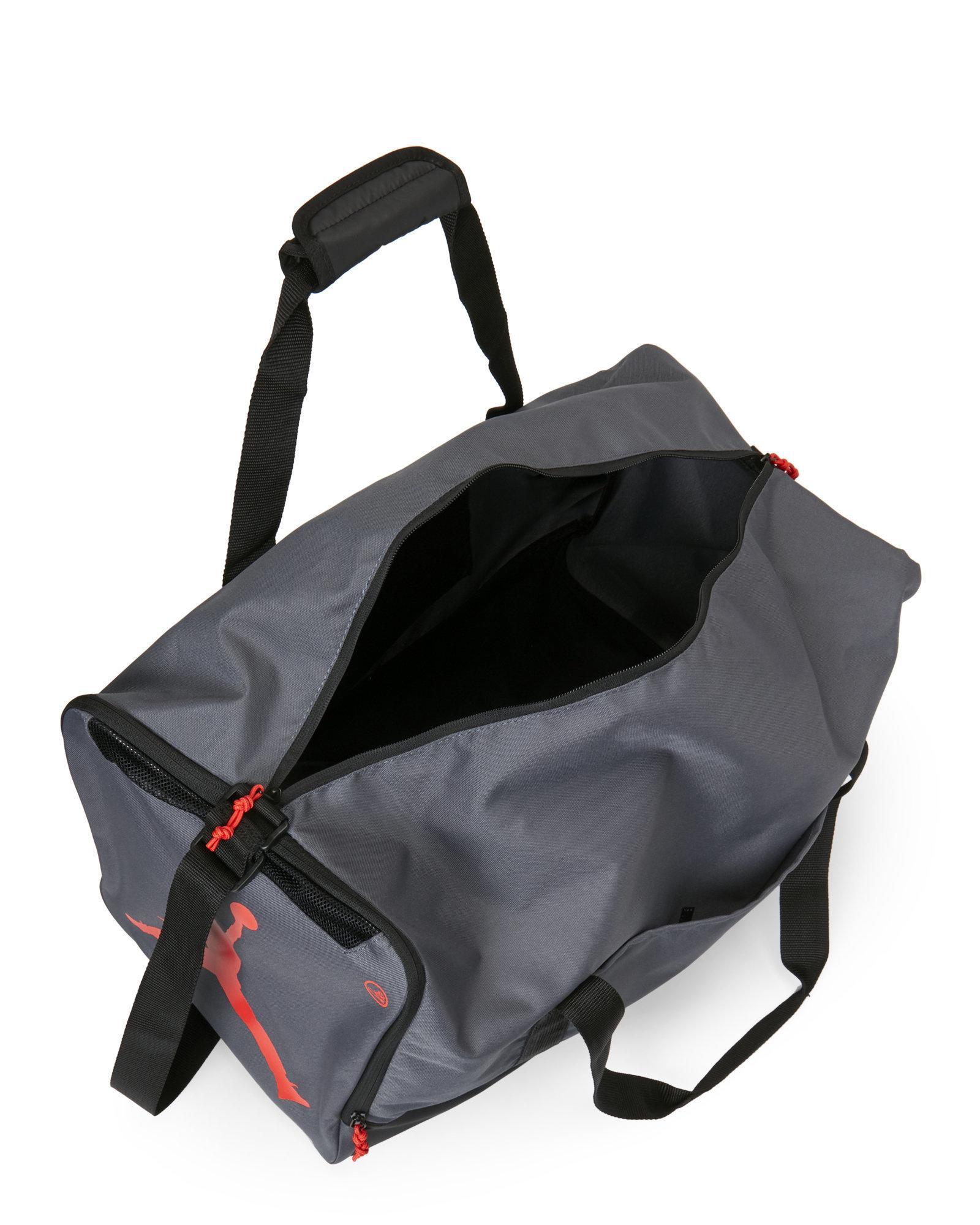 0a58c6f4ab7f Lyst - Nike Grey Gym Rat Duffel Bag in Gray for Men