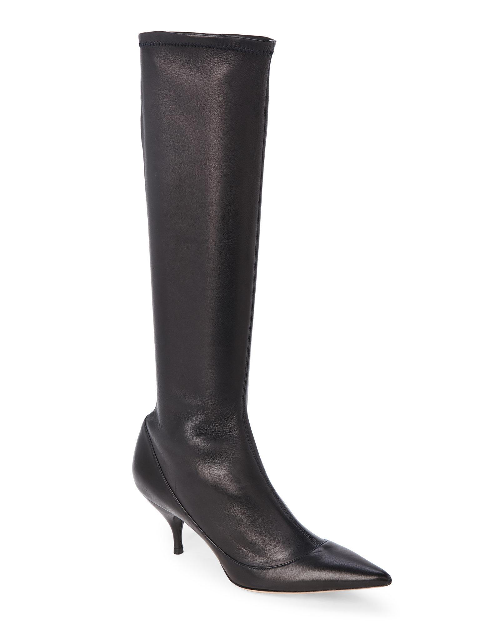 Nina Ricci Leather Knee-High Boots clearance shop for free shipping sneakernews buy cheap in China sale shop for fEVgSUSh