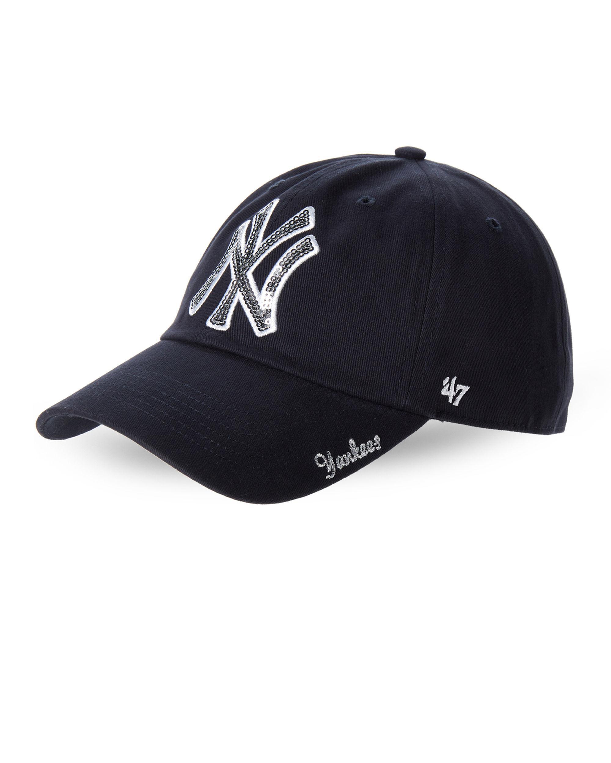 4db97540c61 Lyst - 47 Brand New York Yankees Sparkle Baseball Cap in White