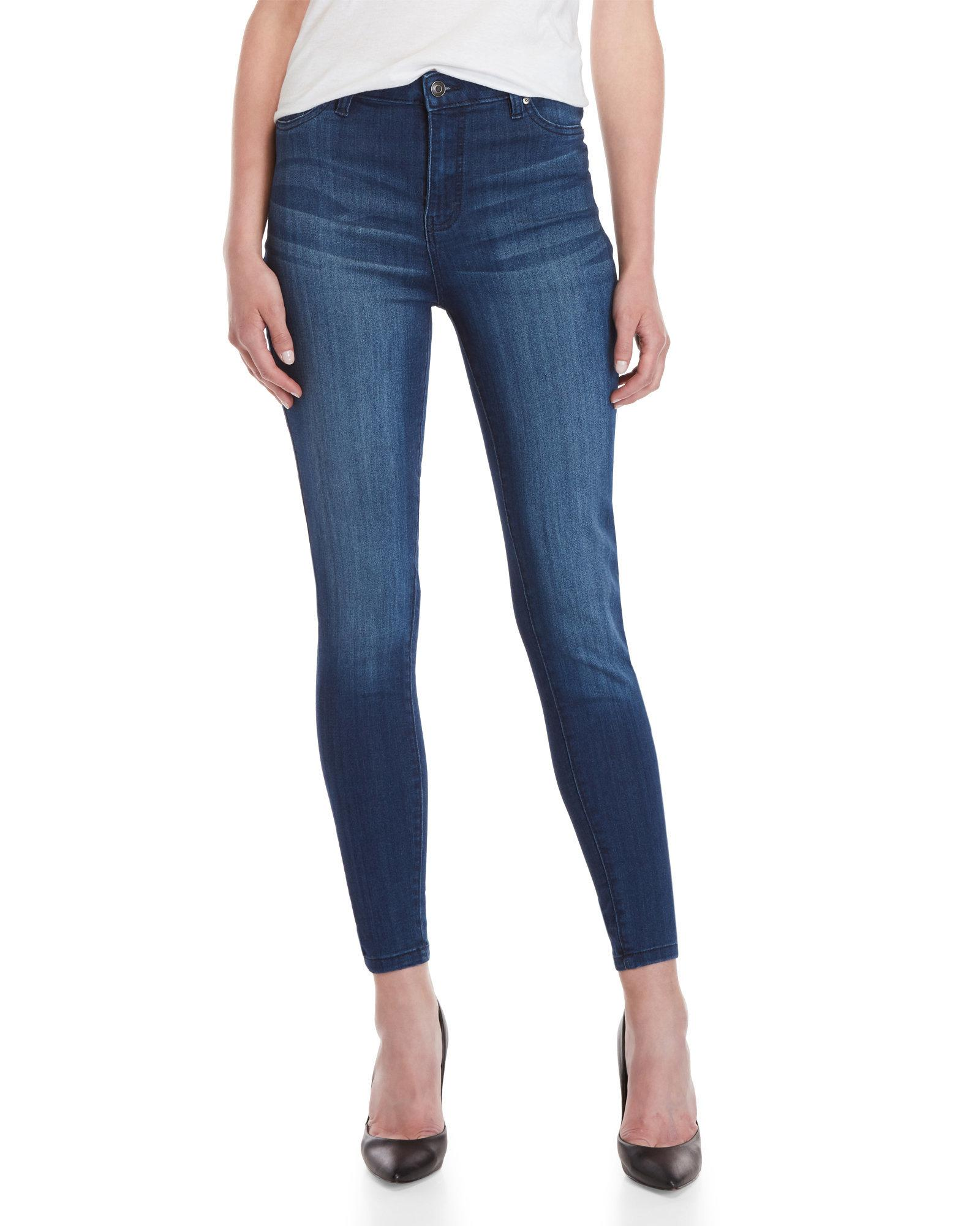CELEBRITY PINK WOMANS 24 ANKLE SKINNY RUST STRETCH DRESS JEANS//PANTS NWT
