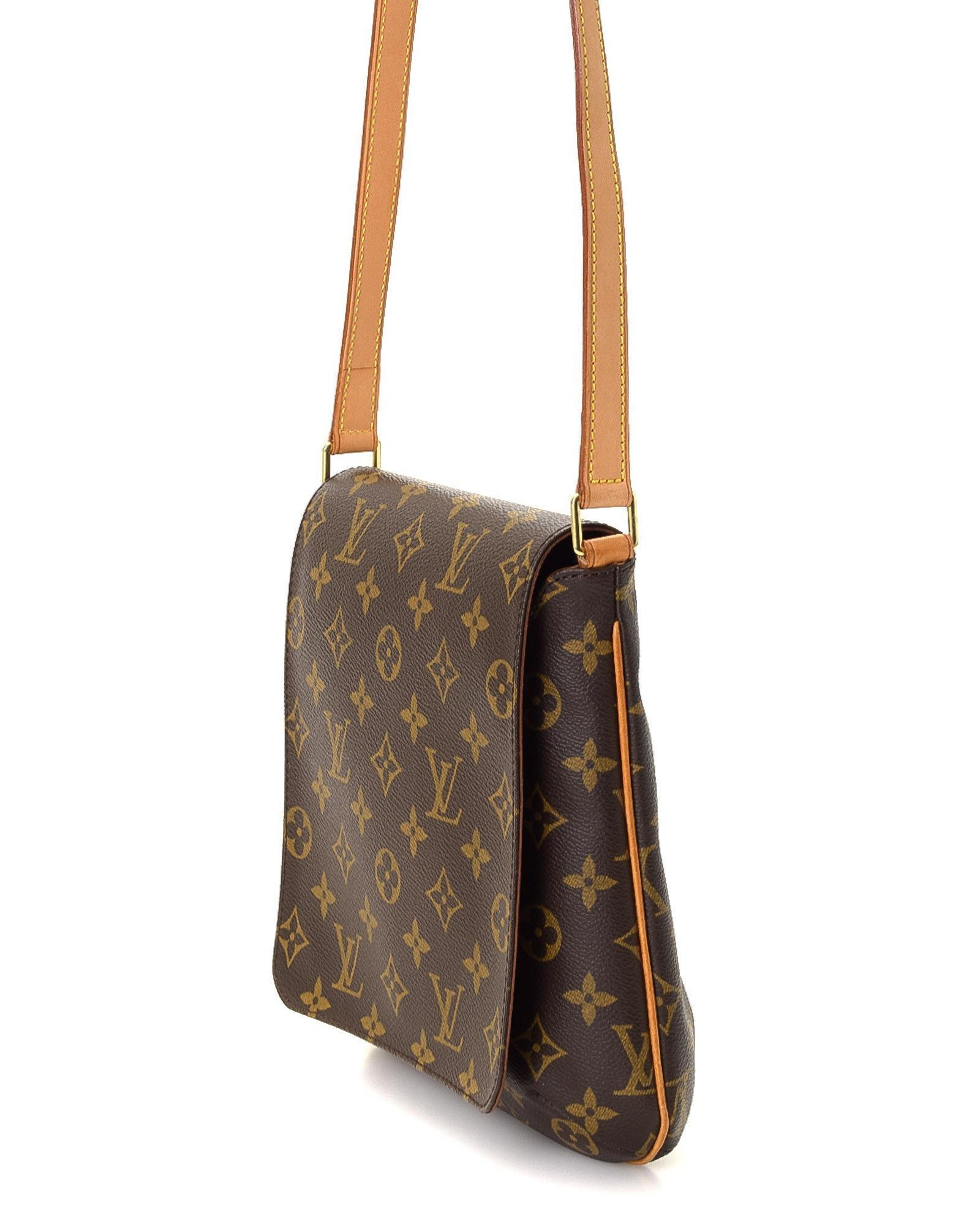 5ac202253f1e Lyst - Louis Vuitton Crossbody Bag - Vintage in Brown
