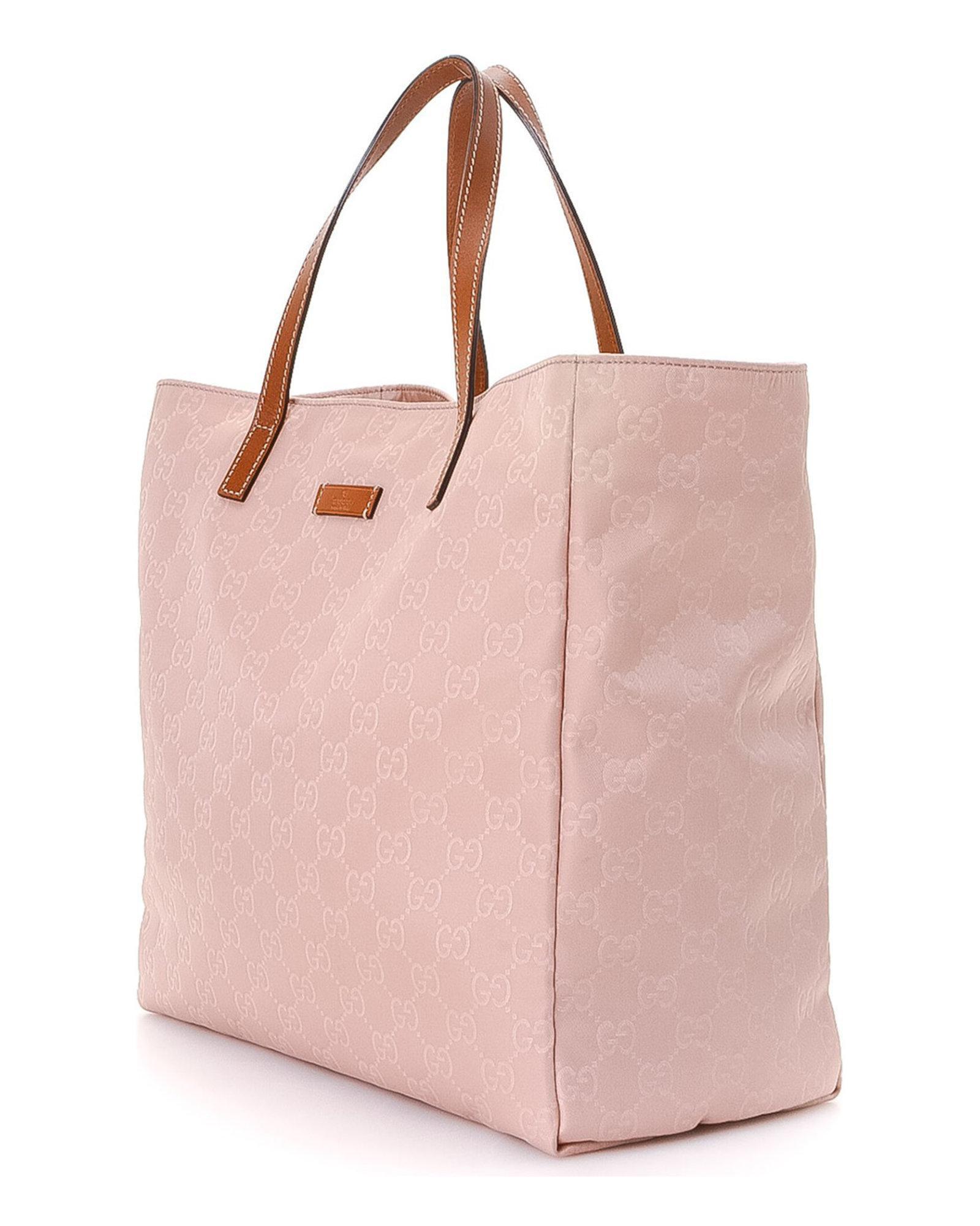 d550e4e6e919 Gucci Tote Bag - Vintage in Pink - Lyst