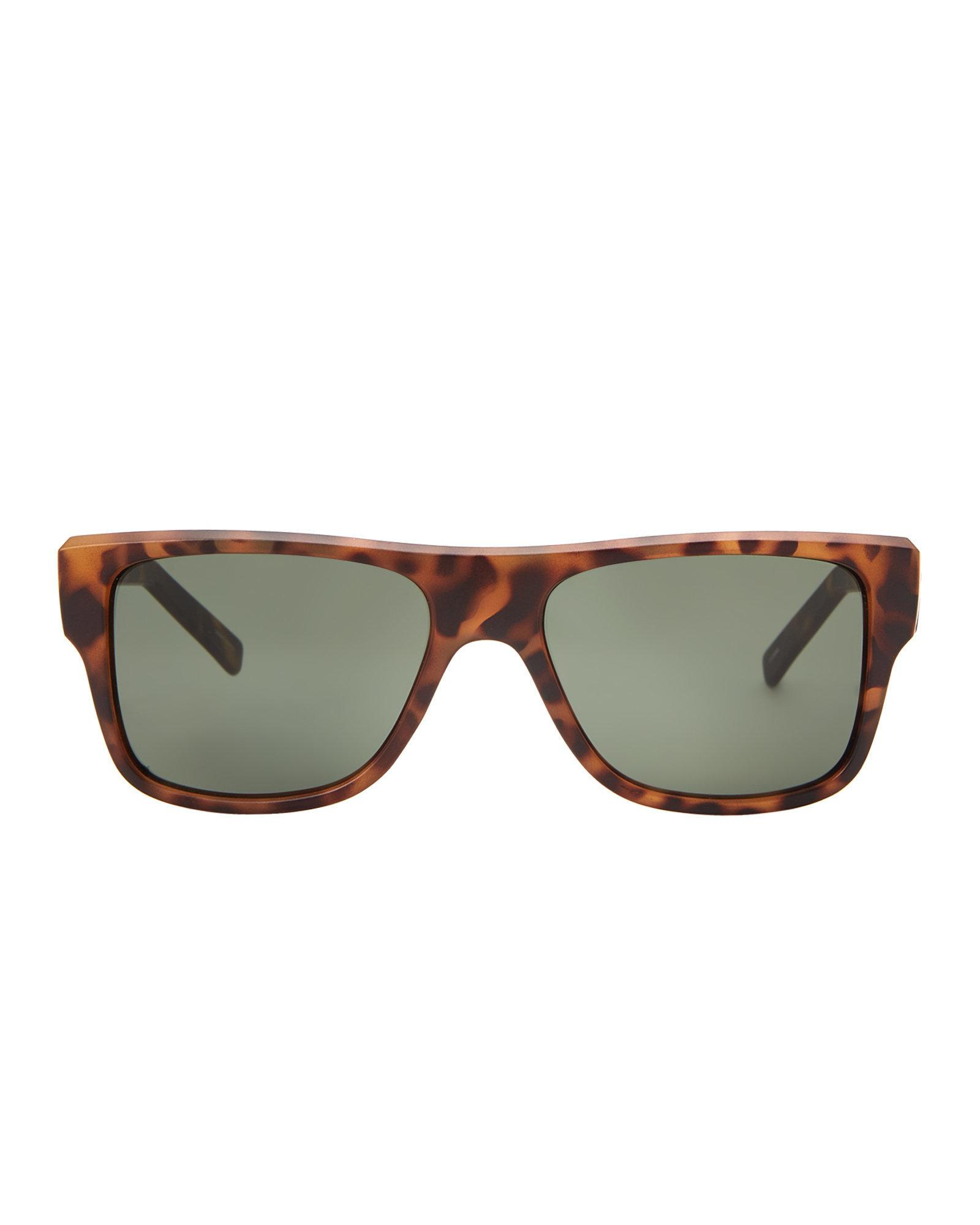 c96f6cffe5ab Lyst - Under Armour Tortoiseshell-look Regime Square Sunglasses in Brown