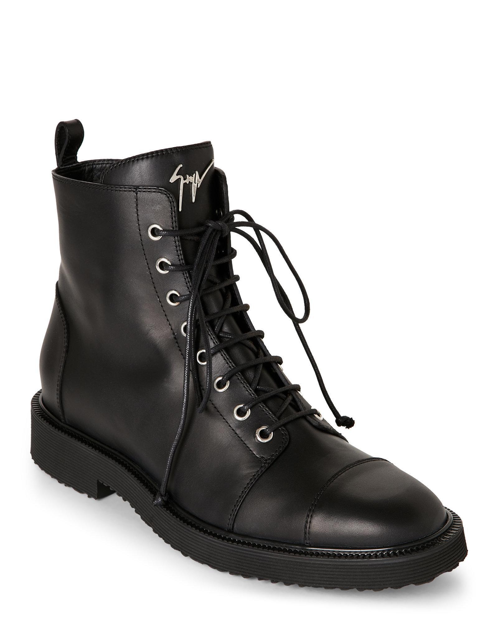 Giuseppe Zanotti Tyson Zip Boots aXctLBD4i0