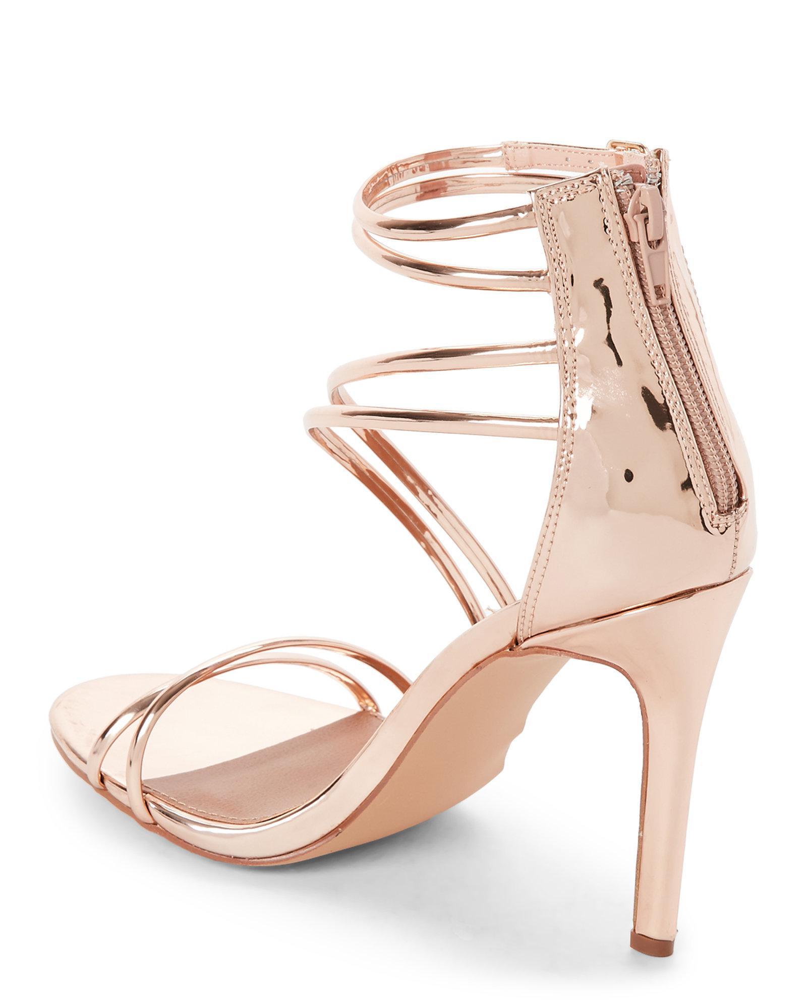 046504d7379 Steve Madden Multicolor Fico Tube Strap High Heel Sandals