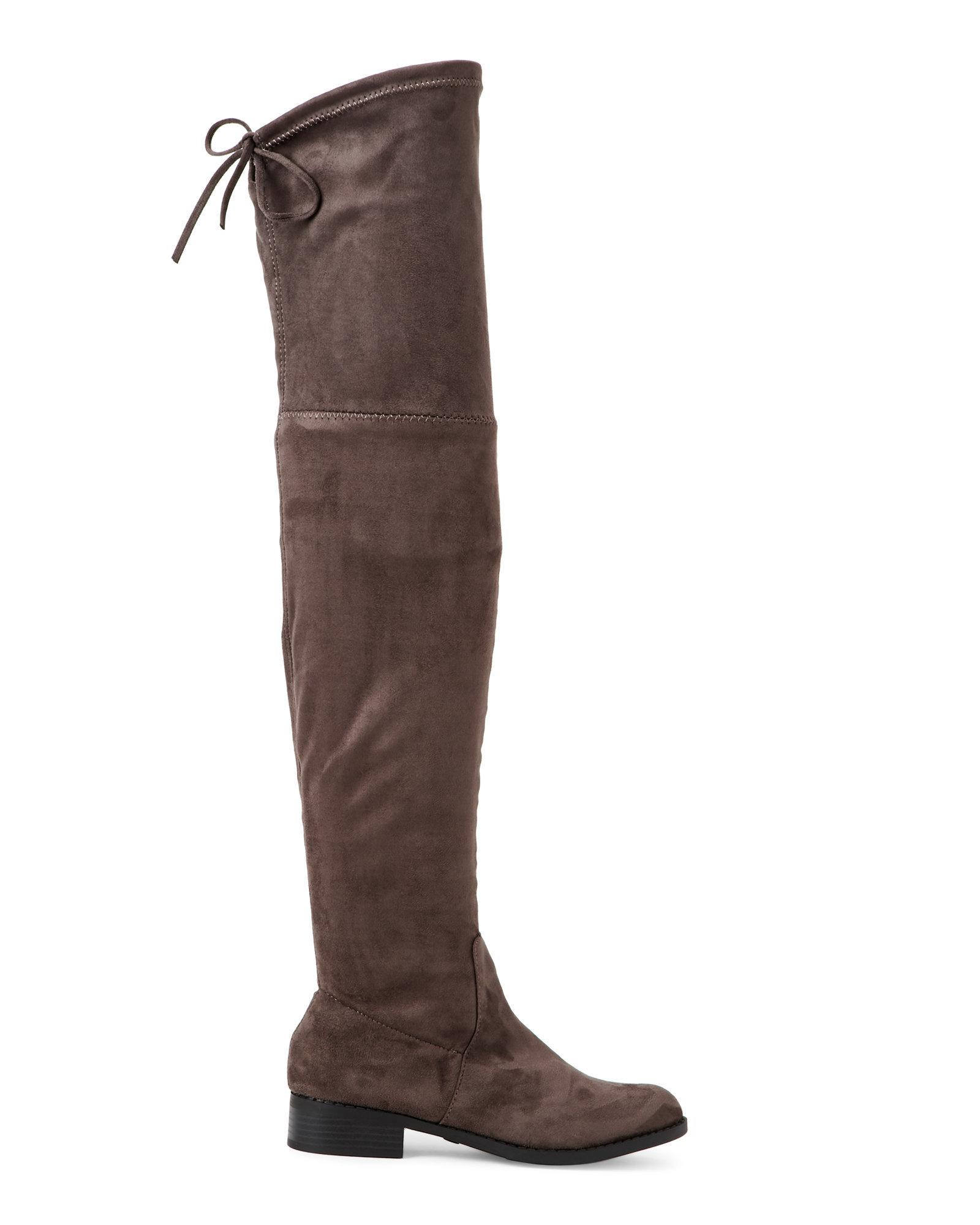 6ce85a226 Catherine Malandrino Grey Morcha Over The Knee Boots in Gray - Lyst