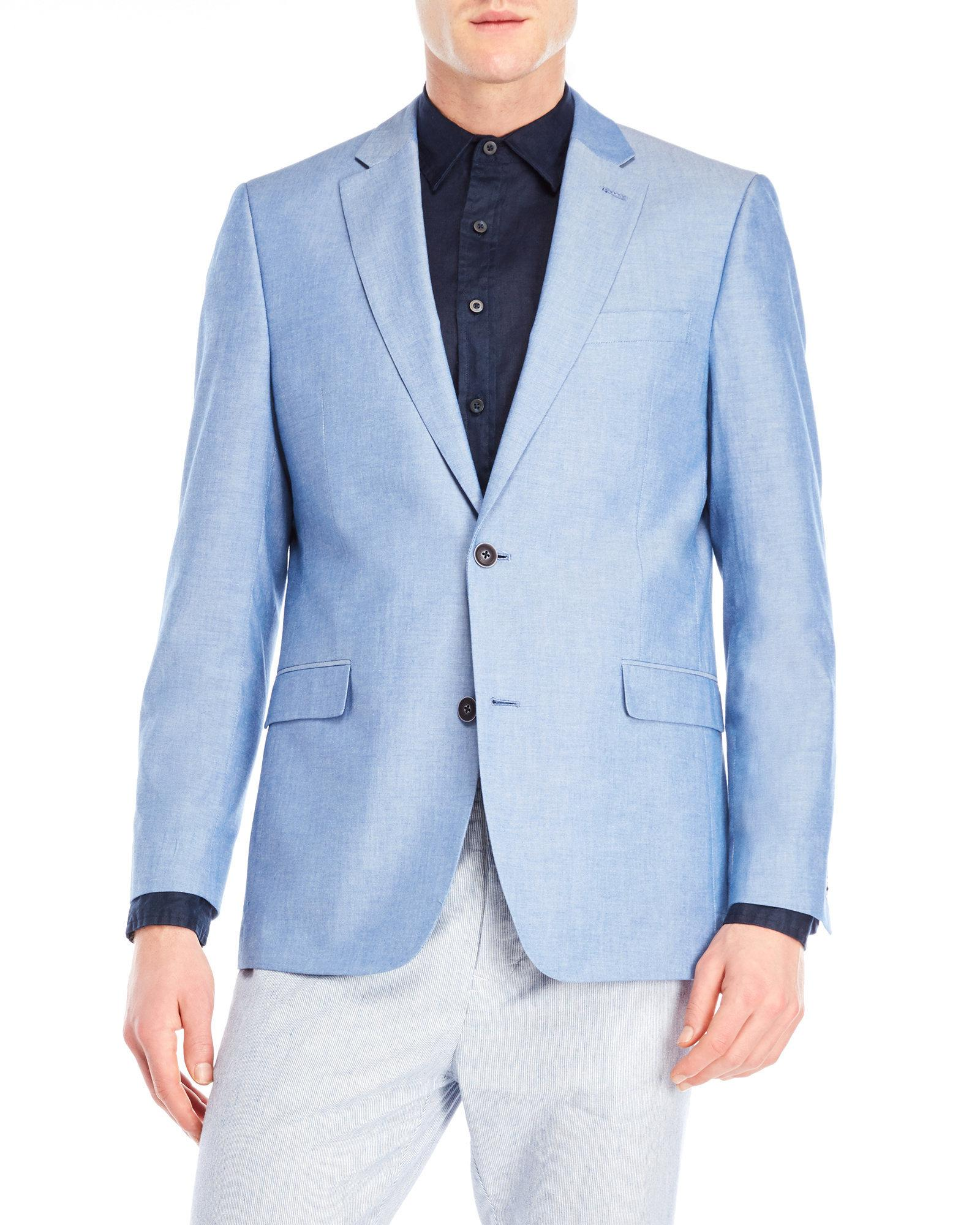 218007f0b Tommy Hilfiger Blue Colby Sport Coat for men