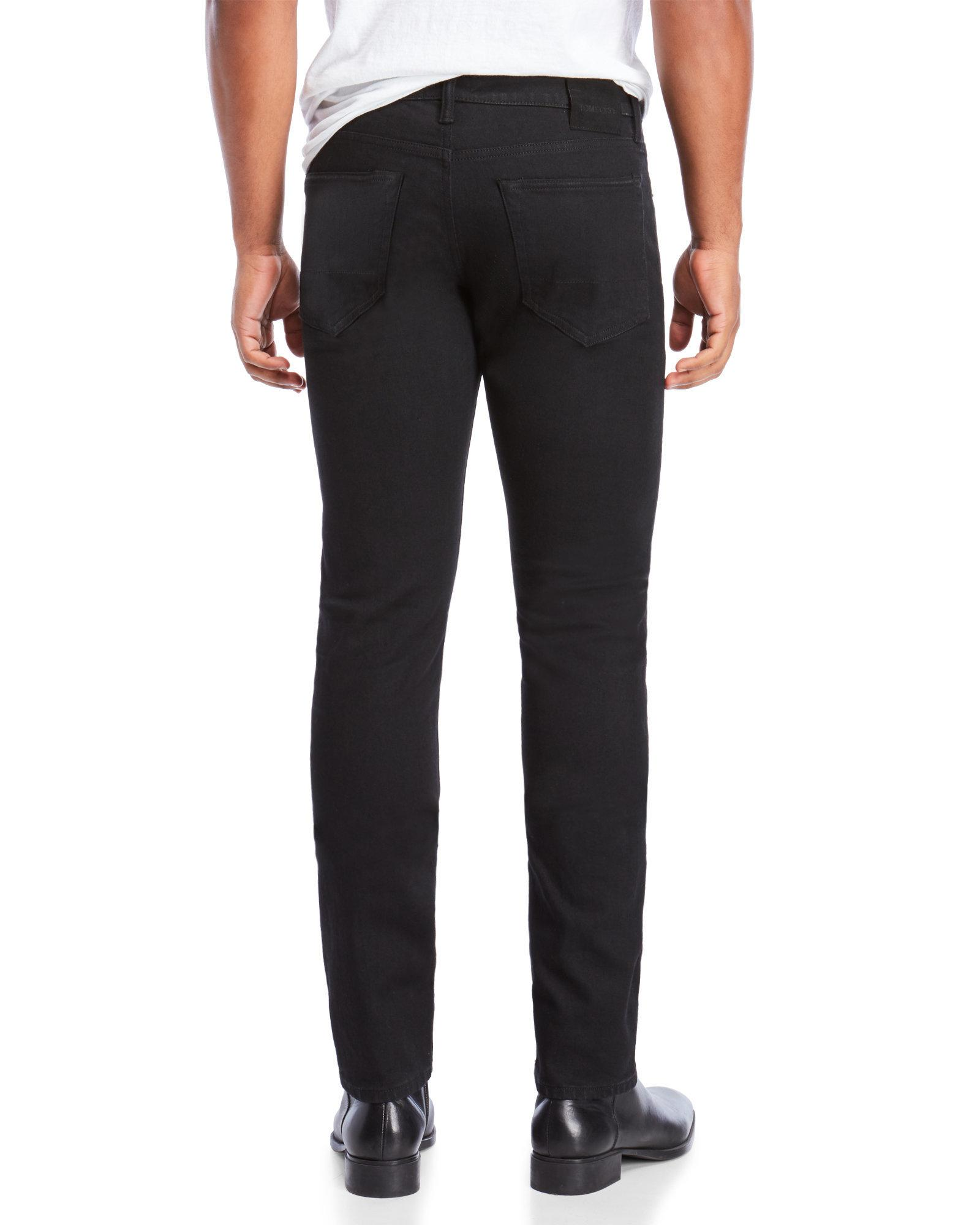 e93215ab657c4f Tom Ford Slim Fit Jeans in Black for Men - Lyst