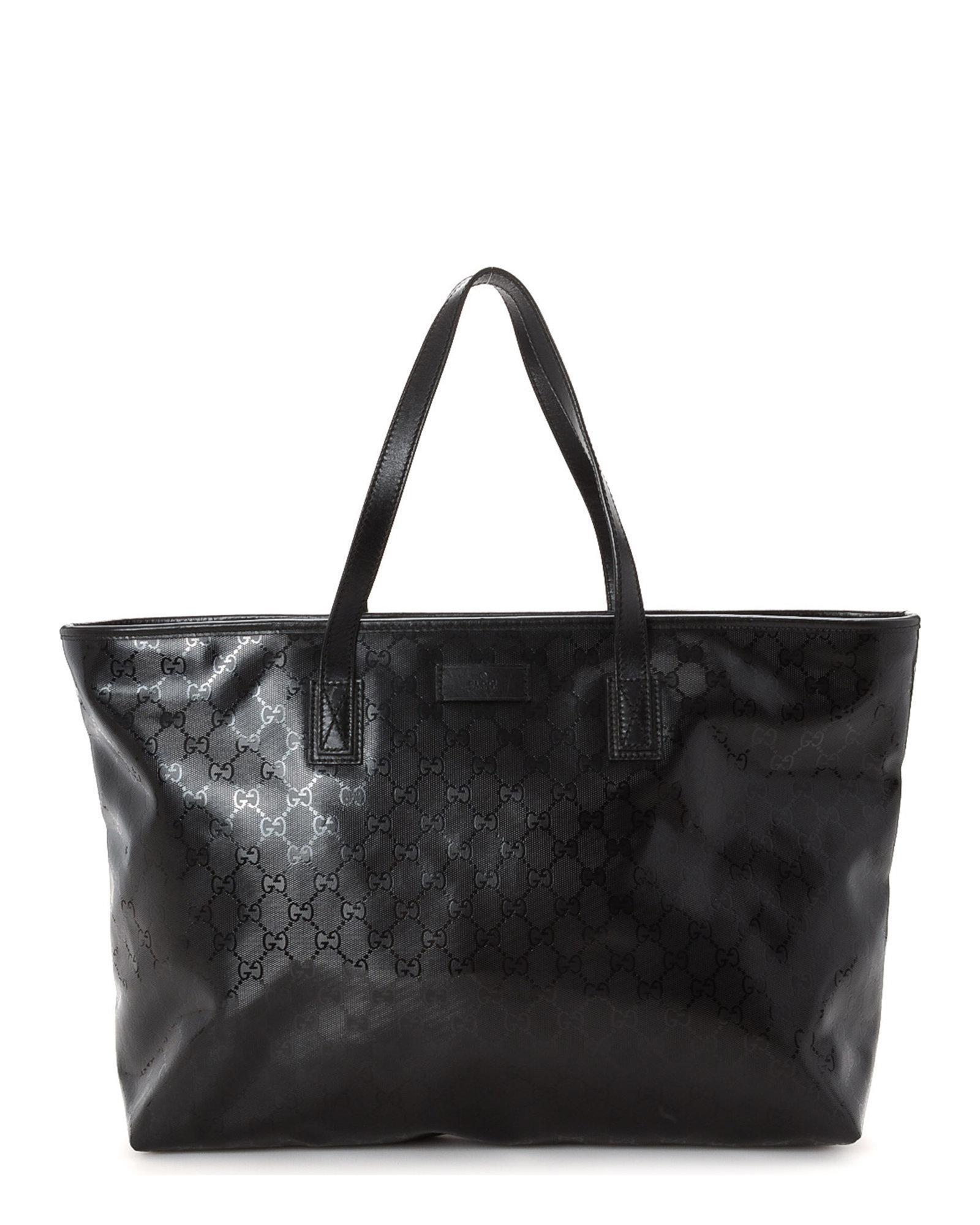 29b11763b163 Gucci Gg Imprime Tote - Vintage in Black - Lyst