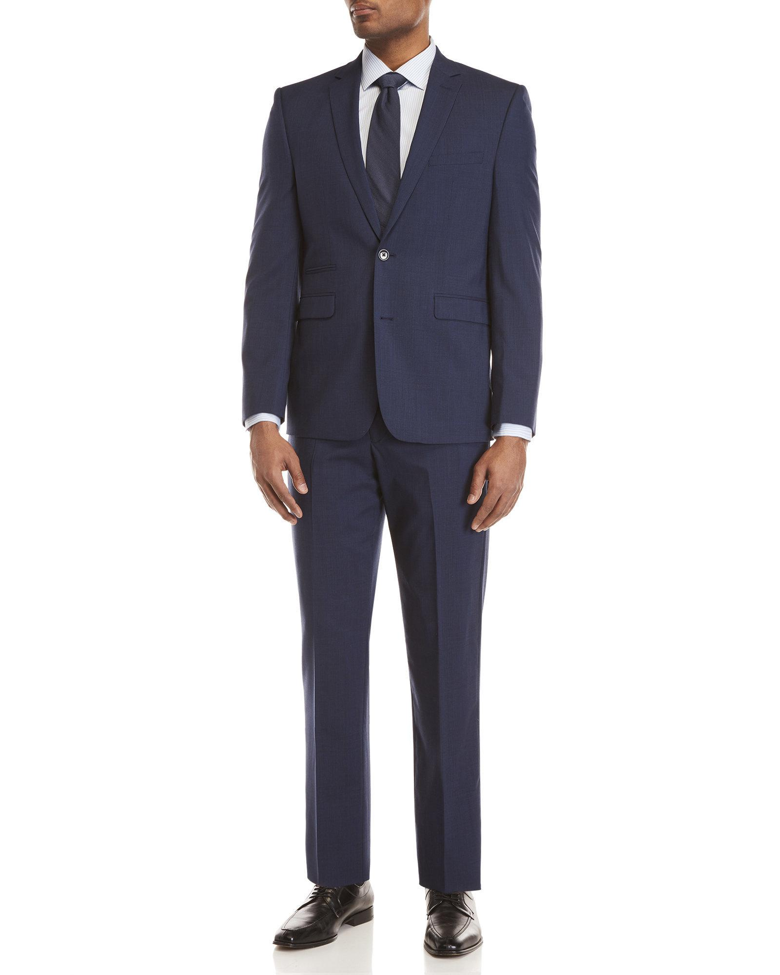 Vince Camuto Modern Fit Stretch Plaid 2-Piece Suit Buy Cheap Pick A Best Buy Cheap View Outlet Recommend wRdrsl8