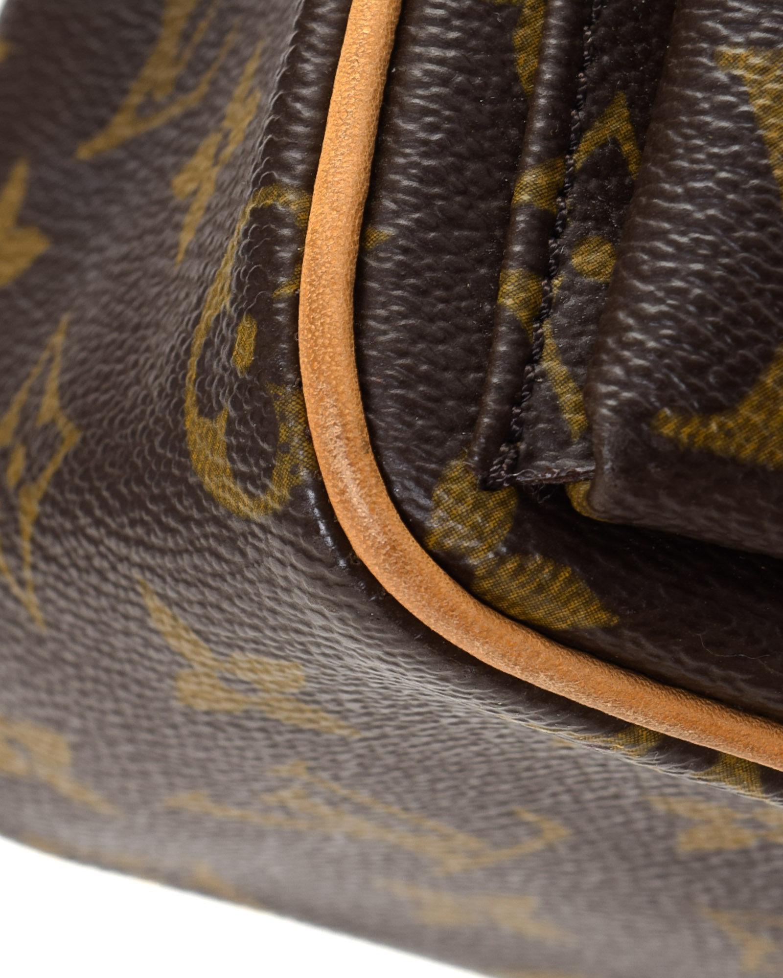 d4109fec0d13 Lyst - Louis Vuitton Viva Cite Monogram Shoulder Bag - Vintage in Brown
