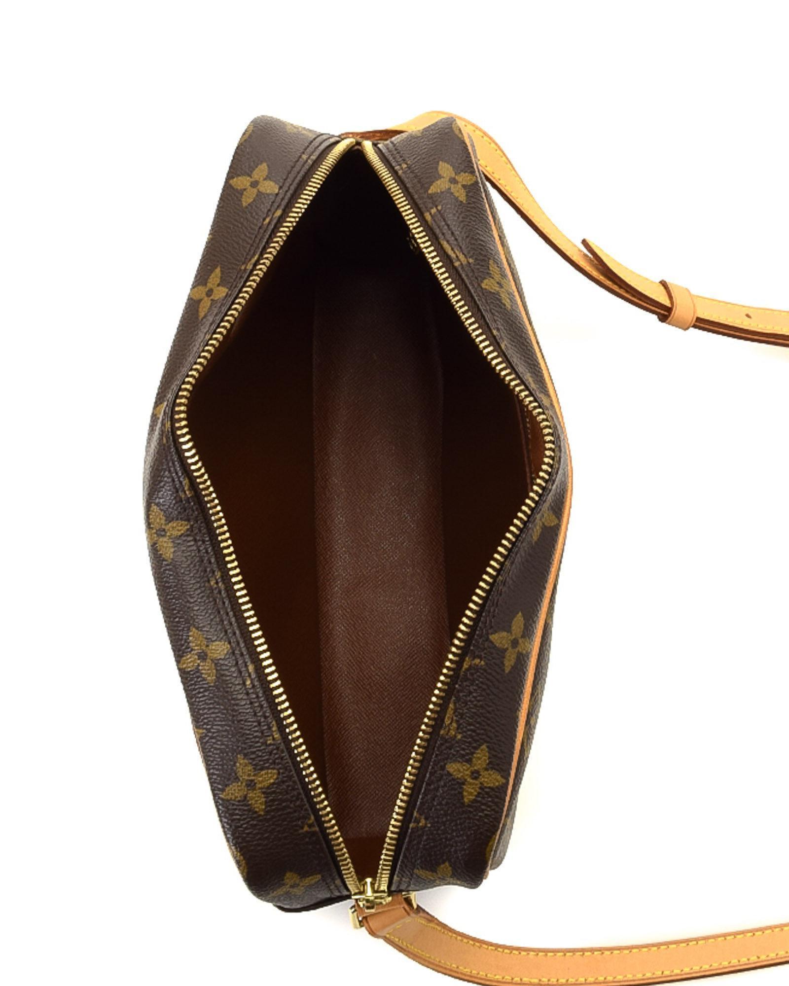 Lyst - Louis Vuitton Trocadero 27 Crossbody Bag - Vintage in Brown 41dd0879b5e2e