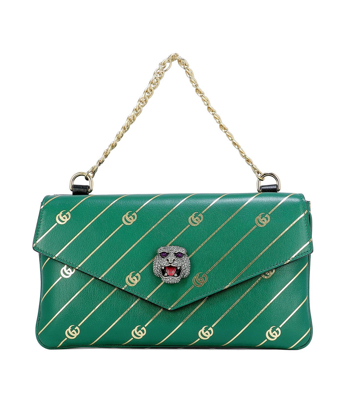 a3fda3309 Gucci Thiara Shoulder Bag in Green - Lyst