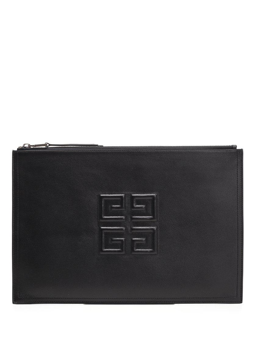 2e2cba4aec Lyst - Givenchy Black Large 4g Pouch in Black - Save 27%