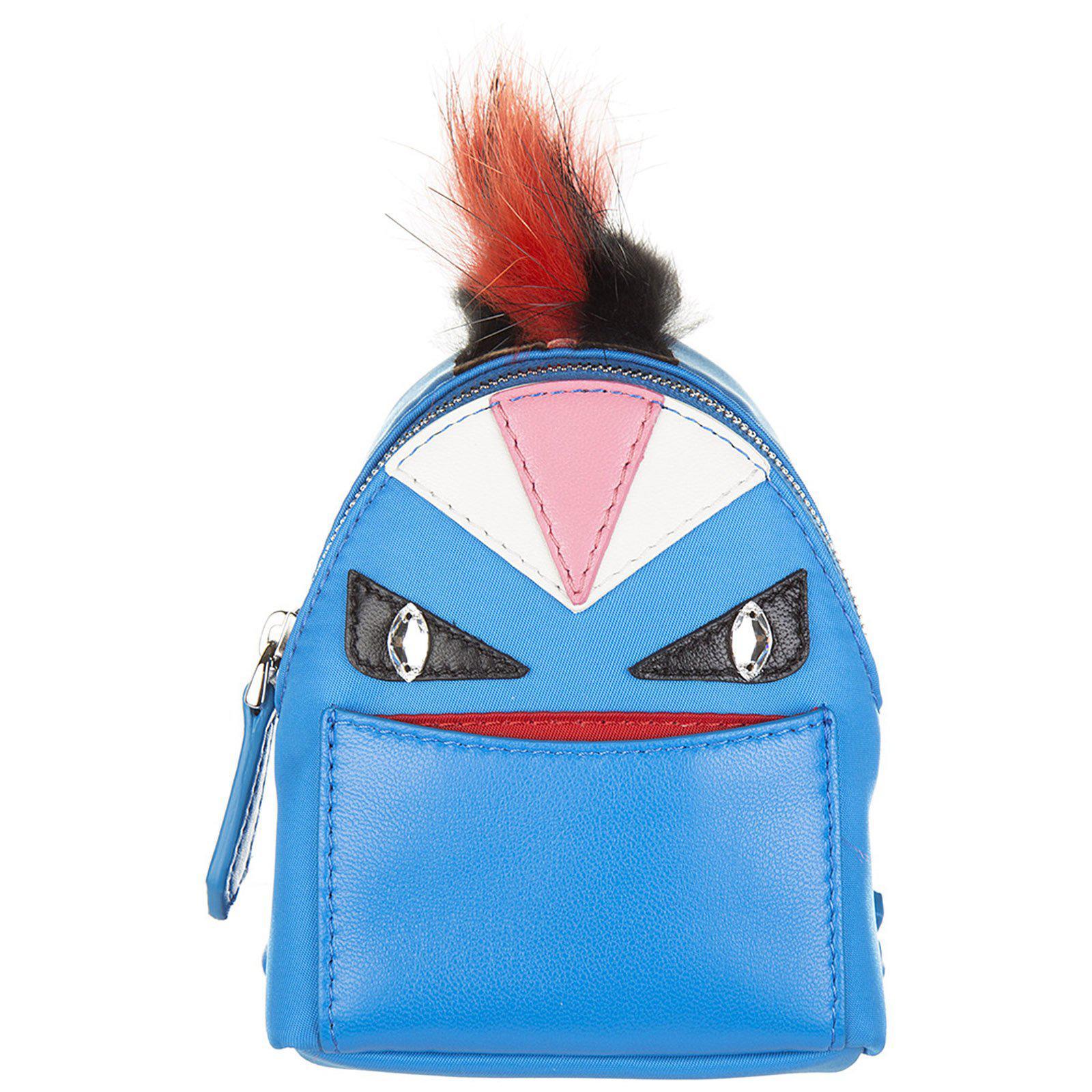 17f3150798 Lyst - Fendi Bag Bugs Backpack Charm in Blue - Save 38%