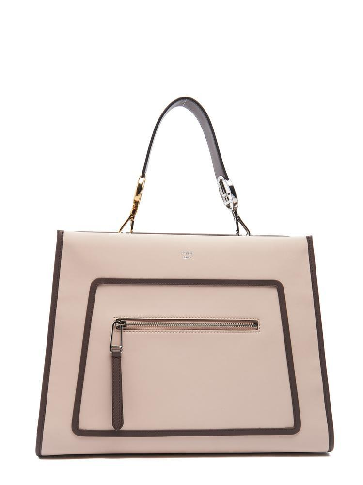 8df77bdeb0b4 Fendi Runway Tote Bag in Pink - Lyst
