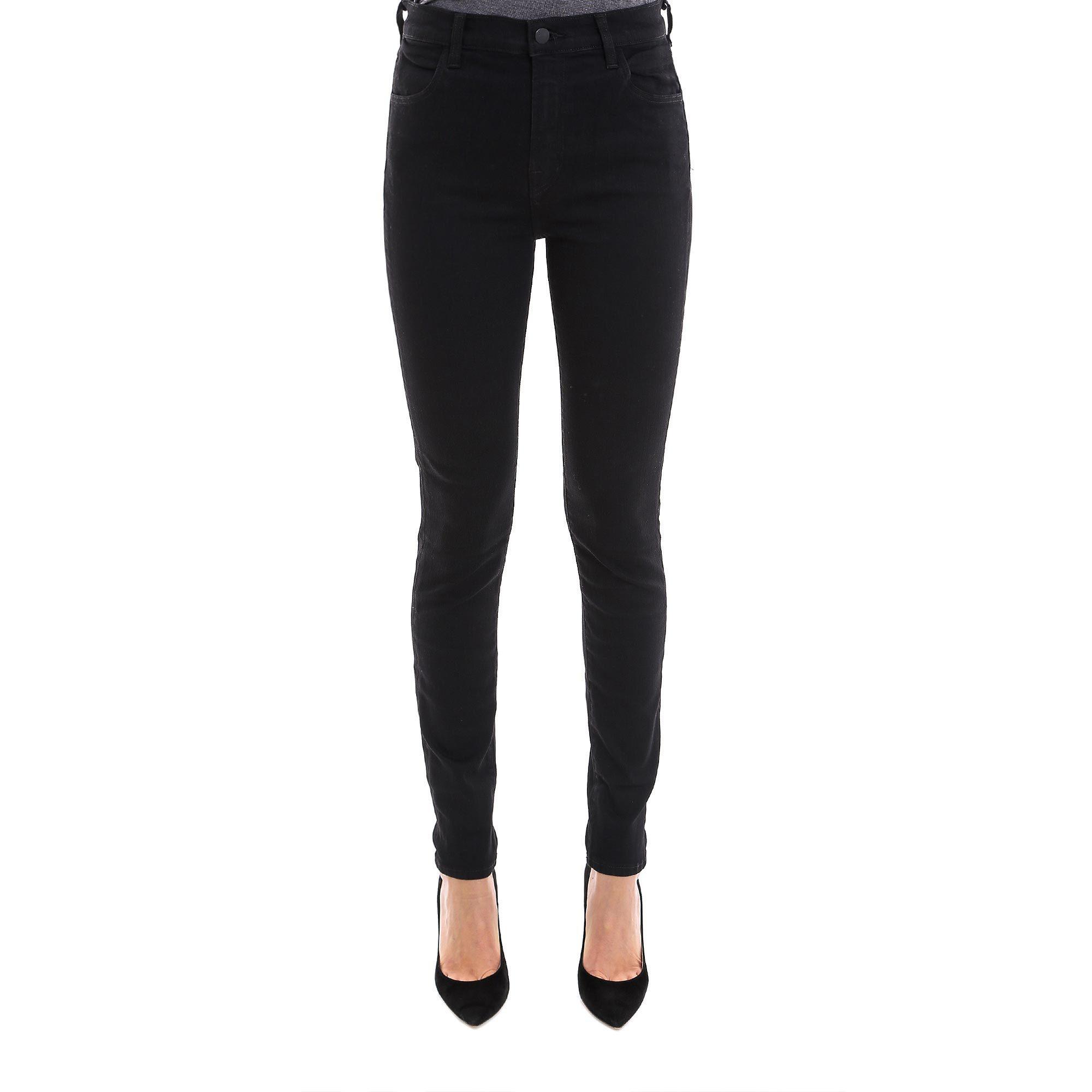 ea4a2ae37e28 J Brand Ripped Skinny Jeans in Black - Lyst