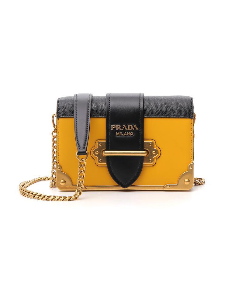 e3f69cbcd102 Prada. Women s Cahier Shoulder Bag