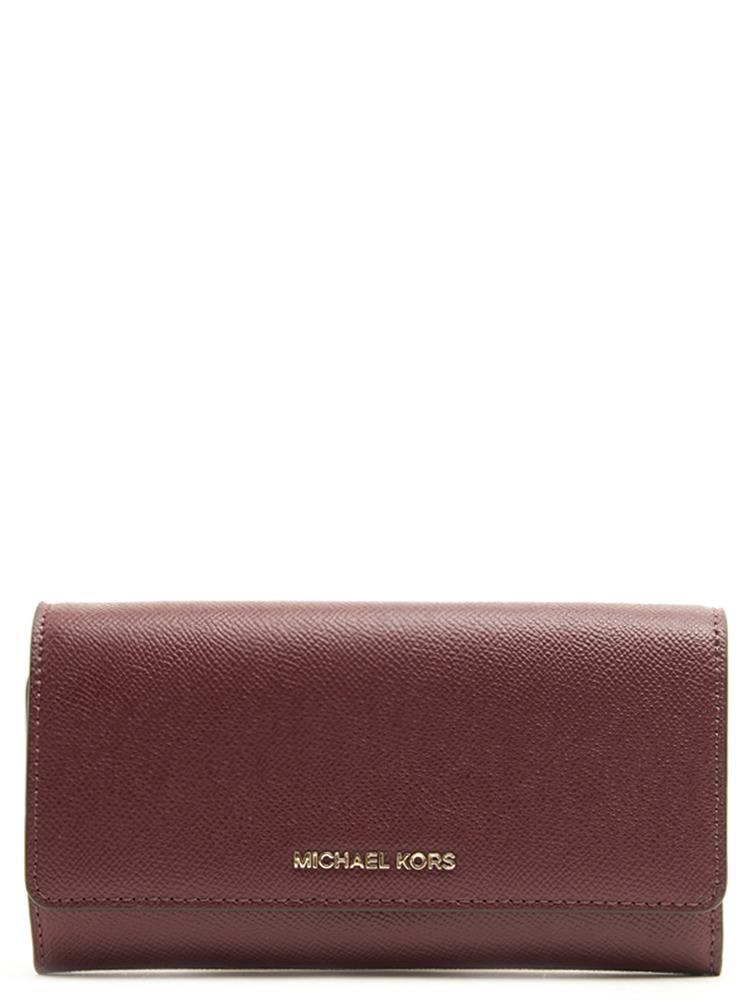 37eccc9d7 Lyst - MICHAEL Michael Kors Chain Wallet Bag in Red
