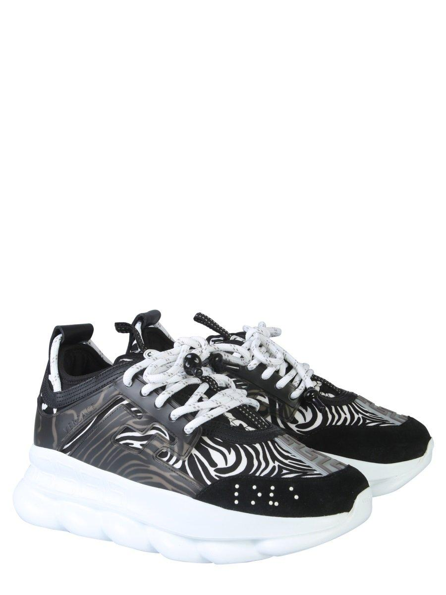 Versace Rubber Chain Reaction Sneakers