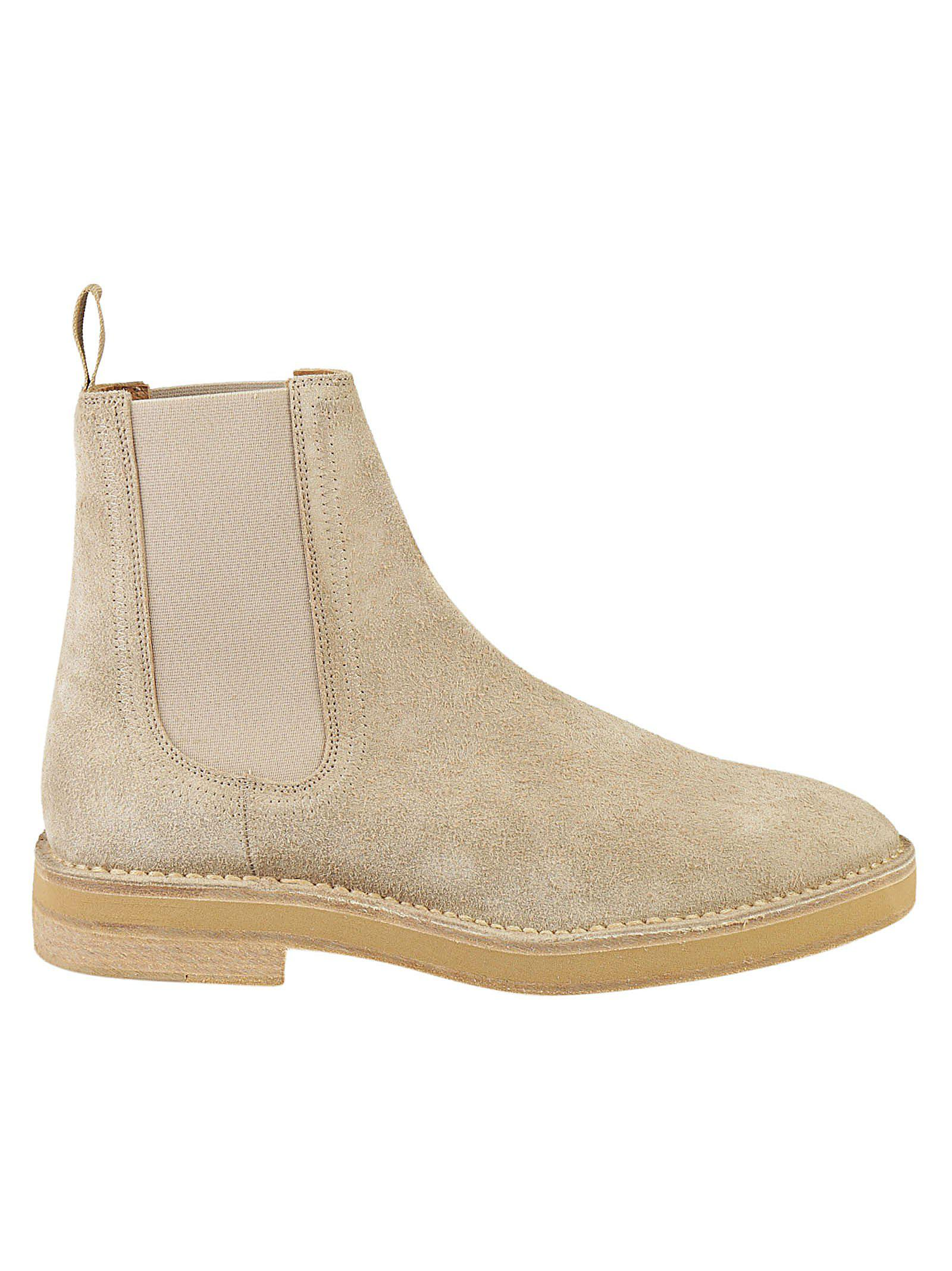 5a5010a0e Lyst - Yeezy Season 6 Chelsea Boot in Natural for Men
