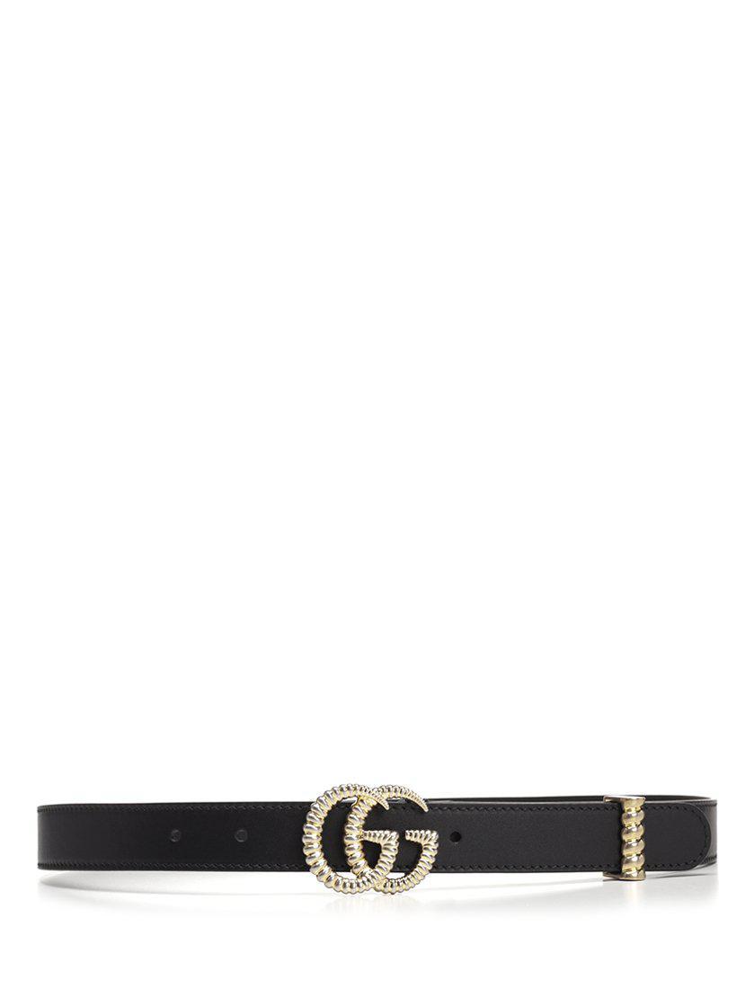 1547d4968c4 Lyst - Gucci GG Buckle Belt in Black