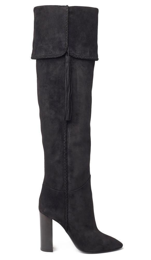 f3647295f18 Saint Laurent - Black Maurice Boots - Lyst. View fullscreen